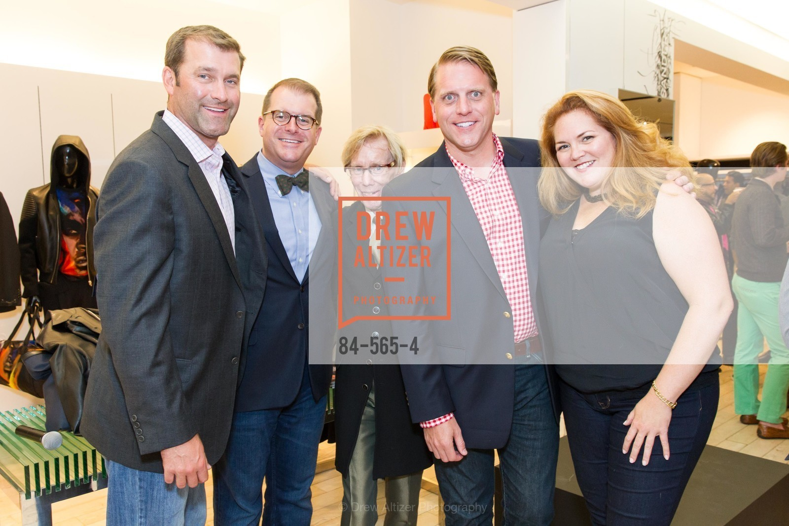 Todd Miller, Doug Piper, Gregg Solem, Scott Miller, Jennifer Hooker, GLAAD GALA Kick-Off Party Hosted by SAKS FIFTH AVENUE, Saks Fifth Avenue. 384 Post Street, September 12th, 2014,Drew Altizer, Drew Altizer Photography, full-service agency, private events, San Francisco photographer, photographer california