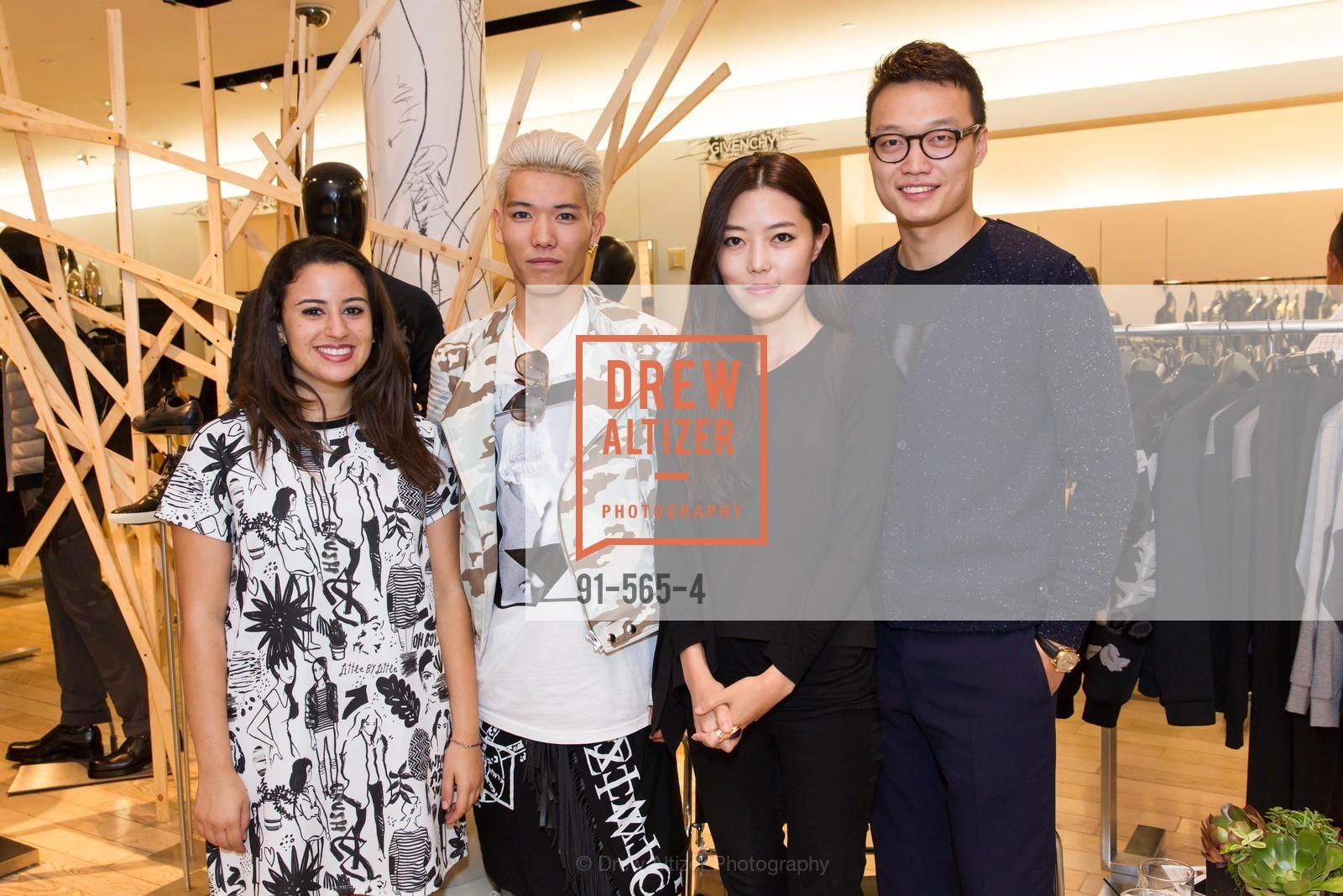 Diana Kalaji, Ryo Hidaka, Suki Shen, Louise Gao, SAKS FIFTH AVENUE Hosts The GLAAD GALA Kick-Off Party, US, September 12th, 2014,Drew Altizer, Drew Altizer Photography, full-service agency, private events, San Francisco photographer, photographer california