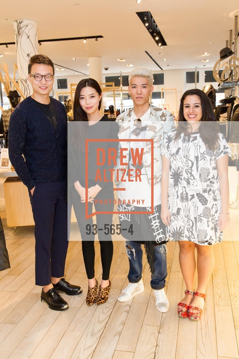 Louise Gao, Suki Shen, Ryo Hidaka, Diana Kalaji, SAKS FIFTH AVENUE Hosts The GLAAD GALA Kick-Off Party, US, September 12th, 2014,Drew Altizer, Drew Altizer Photography, full-service agency, private events, San Francisco photographer, photographer california