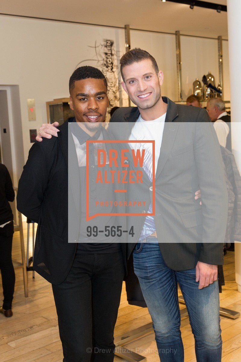 Isaiah Michael Joyner, Omar Sharif Jr., GLAAD GALA Kick-Off Party Hosted by SAKS FIFTH AVENUE, Saks Fifth Avenue. 384 Post Street, September 12th, 2014,Drew Altizer, Drew Altizer Photography, full-service agency, private events, San Francisco photographer, photographer california