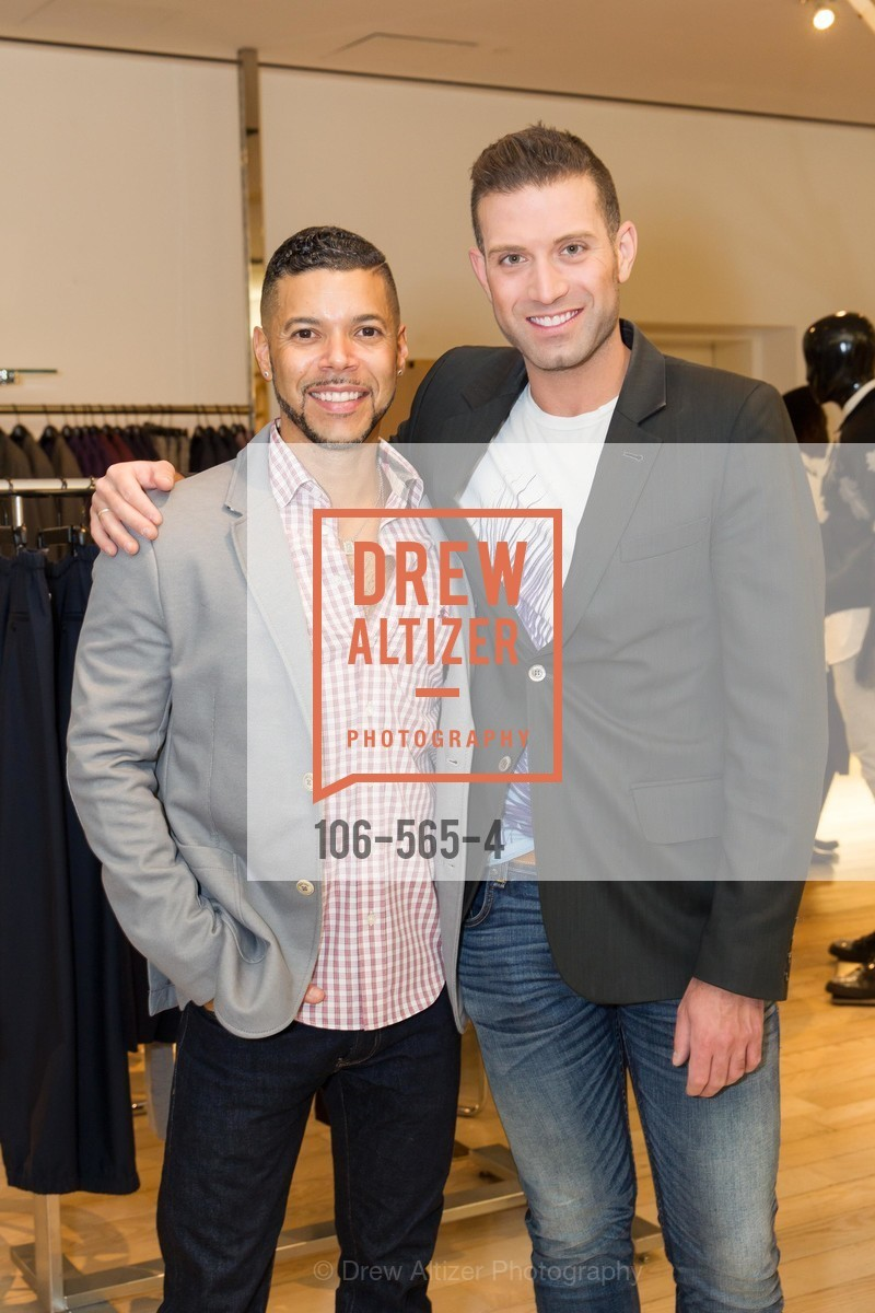 Wilson Cruz, Omar Sharif Jr., GLAAD GALA Kick-Off Party Hosted by SAKS FIFTH AVENUE, Saks Fifth Avenue. 384 Post Street, September 12th, 2014,Drew Altizer, Drew Altizer Photography, full-service agency, private events, San Francisco photographer, photographer california