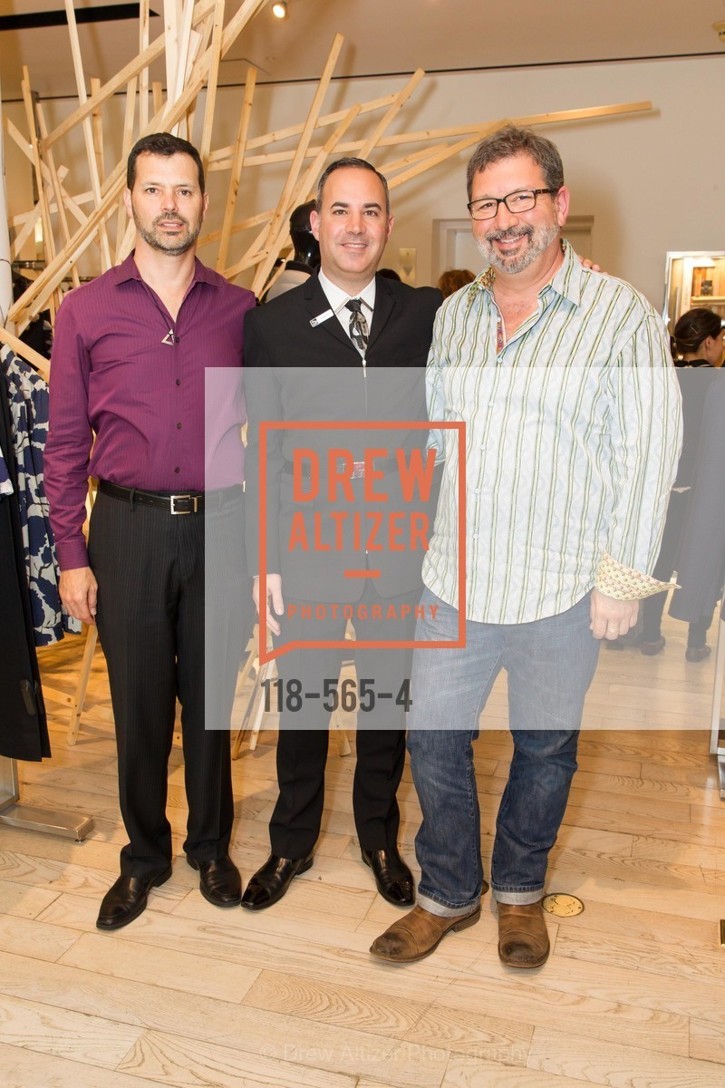 John Maimone, Robert Arnold-Kraft, Randy Arnold-Kraft, SAKS FIFTH AVENUE Hosts The GLAAD GALA Kick-Off Party, US, September 12th, 2014,Drew Altizer, Drew Altizer Photography, full-service agency, private events, San Francisco photographer, photographer california