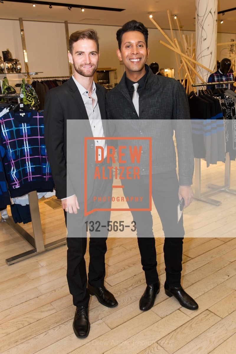 JD Scalzo, Emillio Mesa, GLAAD GALA Kick-Off Party Hosted by SAKS FIFTH AVENUE, Saks Fifth Avenue. 384 Post Street, September 12th, 2014