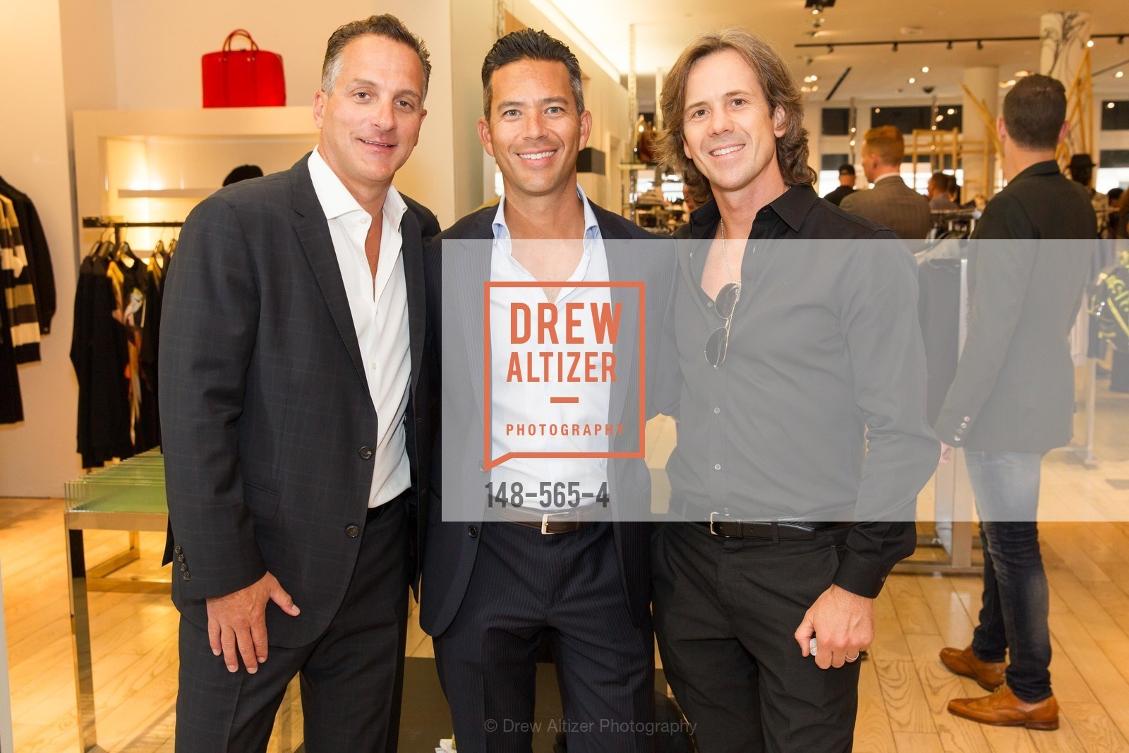 Scott Carino, Will Mallari, Chris Fraley, GLAAD GALA Kick-Off Party Hosted by SAKS FIFTH AVENUE, Saks Fifth Avenue. 384 Post Street, September 12th, 2014,Drew Altizer, Drew Altizer Photography, full-service event agency, private events, San Francisco photographer, photographer California