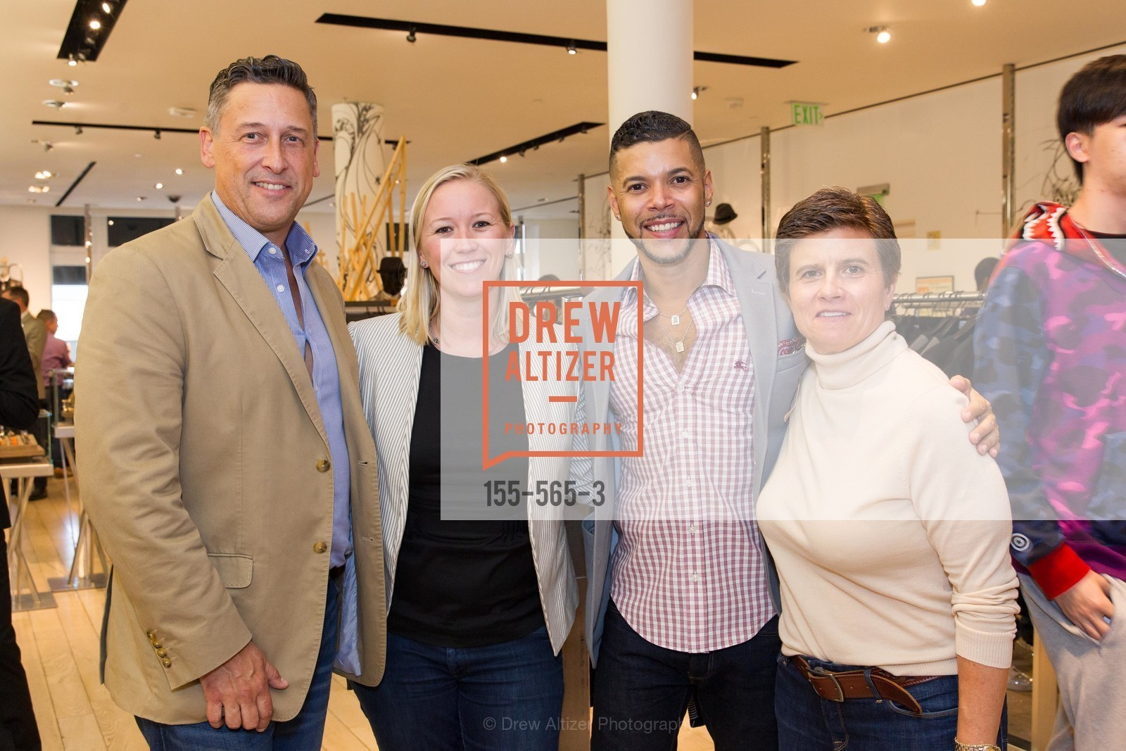 Kevin Patsel, Wilson Cruz, Kathy Paspali, SAKS FIFTH AVENUE Hosts The GLAAD GALA Kick-Off Party, US, September 12th, 2014,Drew Altizer, Drew Altizer Photography, full-service agency, private events, San Francisco photographer, photographer california