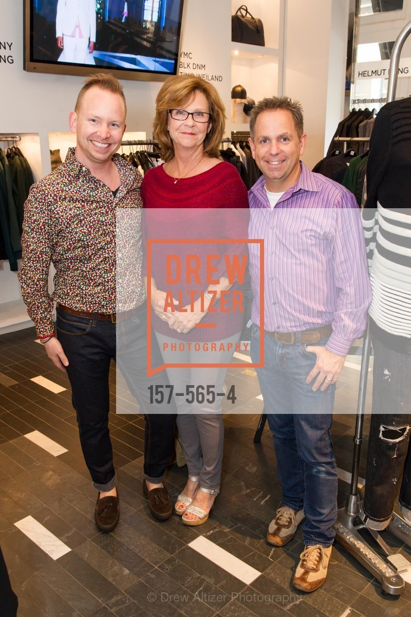 Tommy Wright-Field, Anita Field, Tim Wright-Field, SAKS FIFTH AVENUE Hosts The GLAAD GALA Kick-Off Party, US, September 12th, 2014,Drew Altizer, Drew Altizer Photography, full-service agency, private events, San Francisco photographer, photographer california