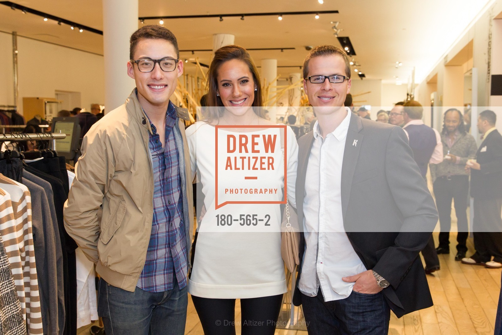 Kevin Huynh, Chisholm Linhard, Travis Tucker, GLAAD GALA Kick-Off Party Hosted by SAKS FIFTH AVENUE, Saks Fifth Avenue. 384 Post Street, September 12th, 2014,Drew Altizer, Drew Altizer Photography, full-service agency, private events, San Francisco photographer, photographer california