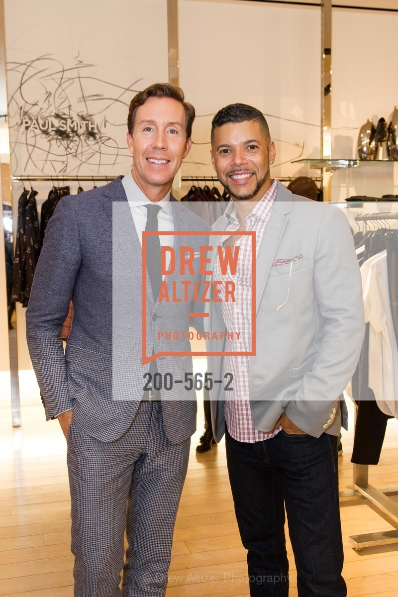 Eric Jennings, Wilson Cruz, GLAAD GALA Kick-Off Party Hosted by SAKS FIFTH AVENUE, Saks Fifth Avenue. 384 Post Street, September 12th, 2014,Drew Altizer, Drew Altizer Photography, full-service agency, private events, San Francisco photographer, photographer california