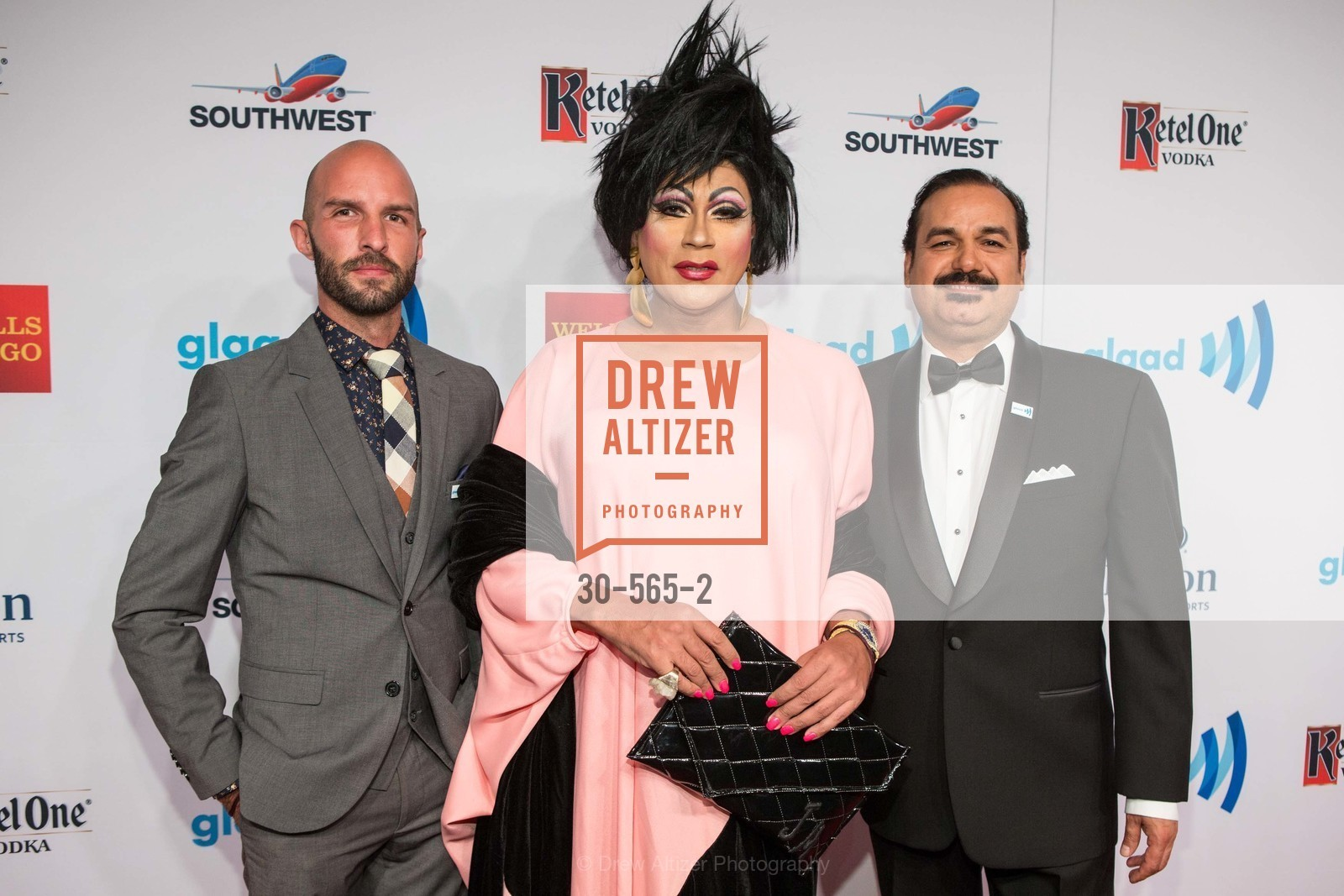Christopher Vasquez, Juanita More, John Marez, SAKS FIFTH AVENUE Hosts The GLAAD GALA Kick-Off Party, US, September 12th, 2014,Drew Altizer, Drew Altizer Photography, full-service agency, private events, San Francisco photographer, photographer california