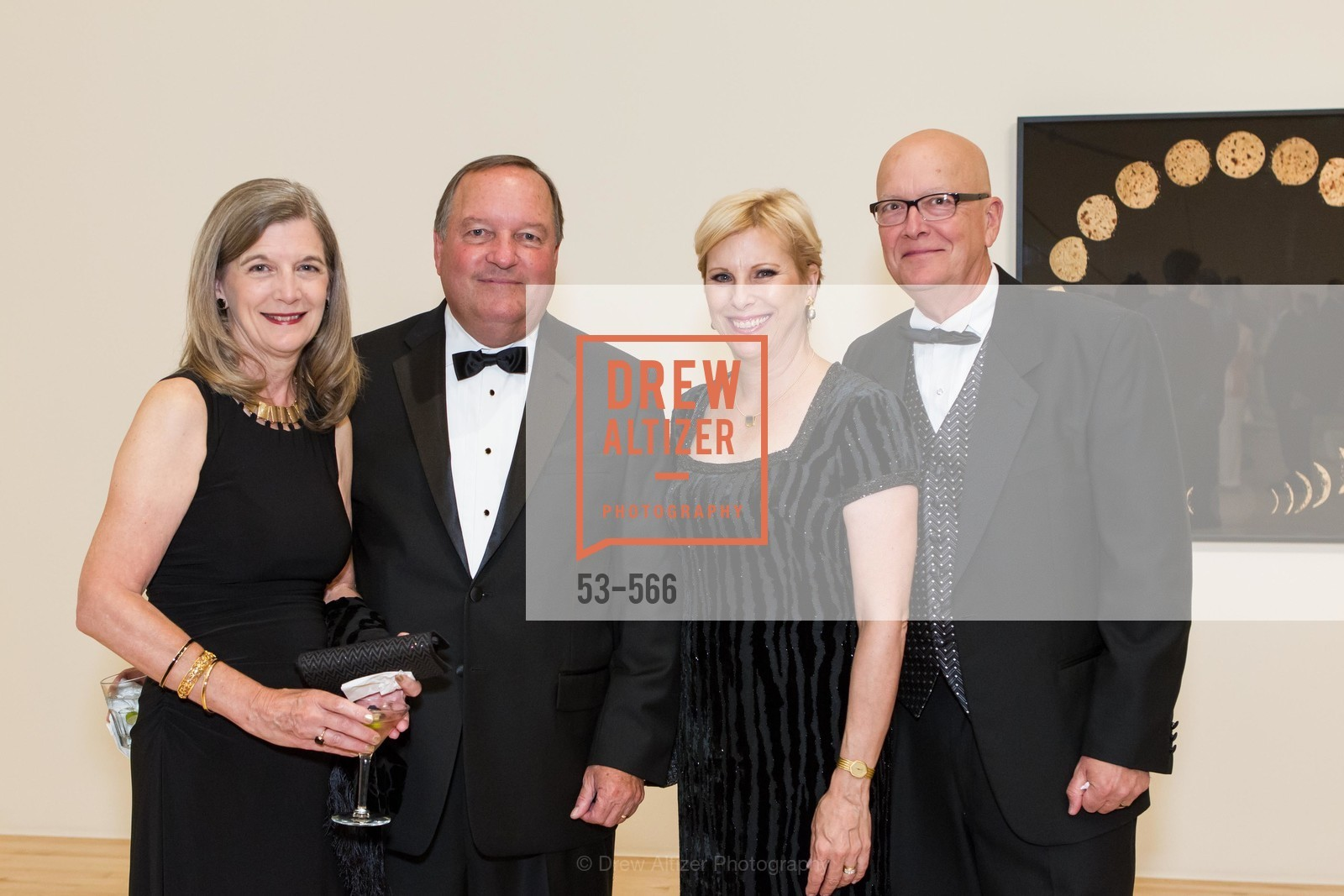 Jackie Faulkner, William Faulkner, Glenda Dorchak, Gary Dorchak, SAN JOSE MUSEUM OF ART'S Spectrum Gala - 45th Anniversary, US, September 13th, 2014