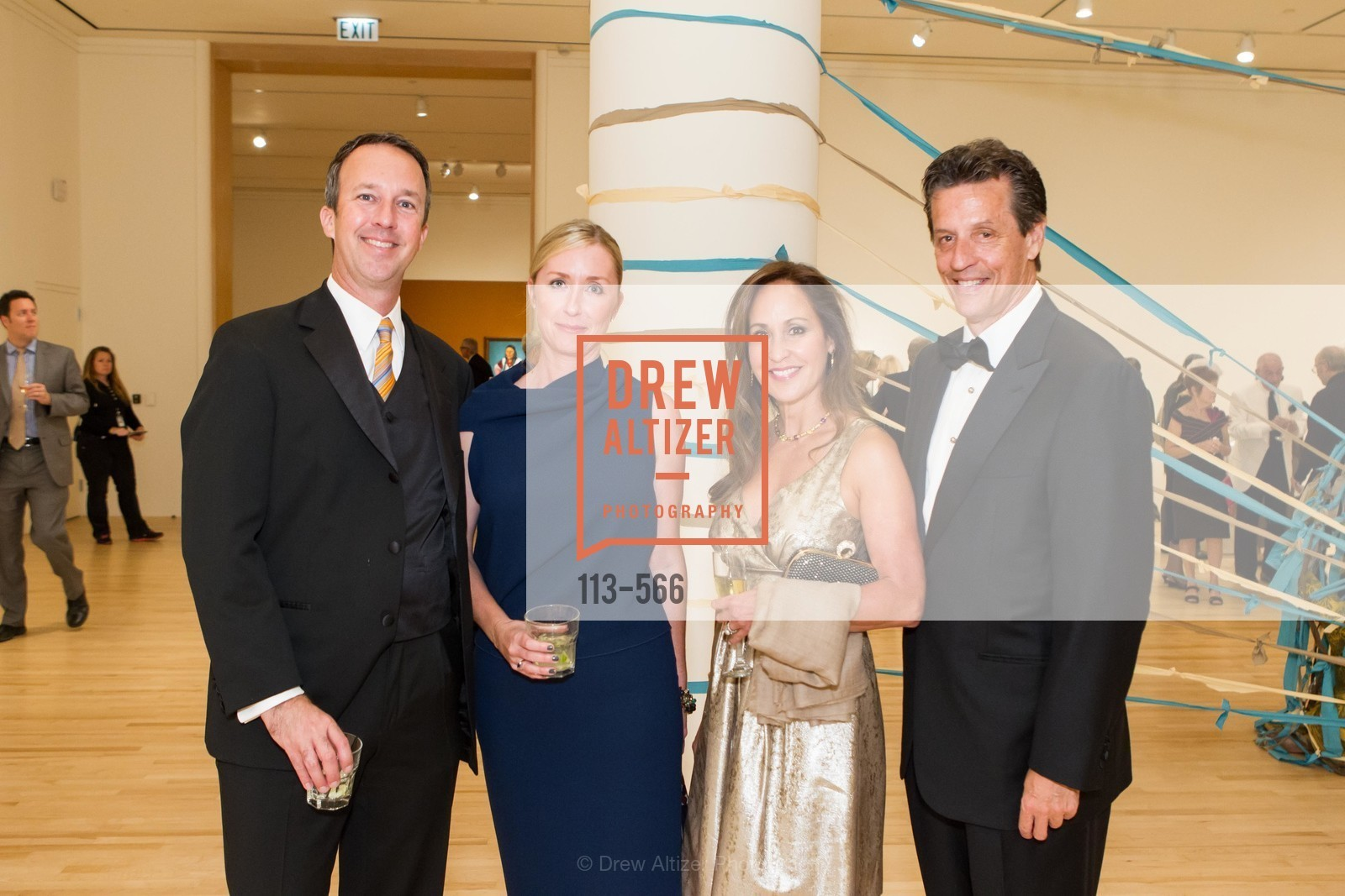 Tad Freese, Brooke Hartzell, Roxanne Fleming, David Soward, SAN JOSE MUSEUM OF ART'S Spectrum Gala - 45th Anniversary, US, September 13th, 2014,Drew Altizer, Drew Altizer Photography, full-service agency, private events, San Francisco photographer, photographer california