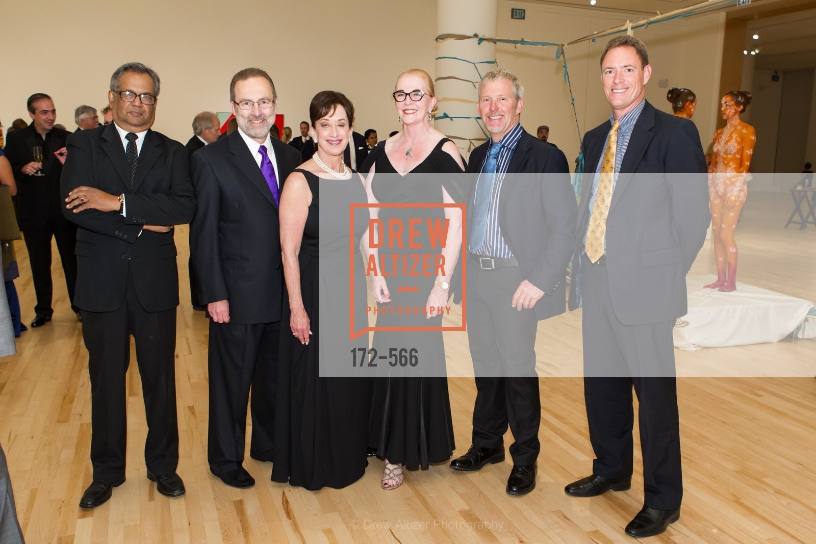 Shamal Roy, Glen Daniel, Michelle Klein, Sally Fera, Richard Eckman, Christian Beckas, SAN JOSE MUSEUM OF ART'S Spectrum Gala - 45th Anniversary, US, September 13th, 2014,Drew Altizer, Drew Altizer Photography, full-service agency, private events, San Francisco photographer, photographer california