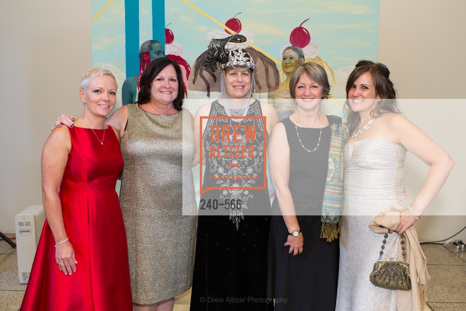 Julie Campbell, Eileen Fernandes, Cathy Woods, Amy Vaughan, SAN JOSE MUSEUM OF ART'S Spectrum Gala - 45th Anniversary, US, September 13th, 2014,Drew Altizer, Drew Altizer Photography, full-service agency, private events, San Francisco photographer, photographer california
