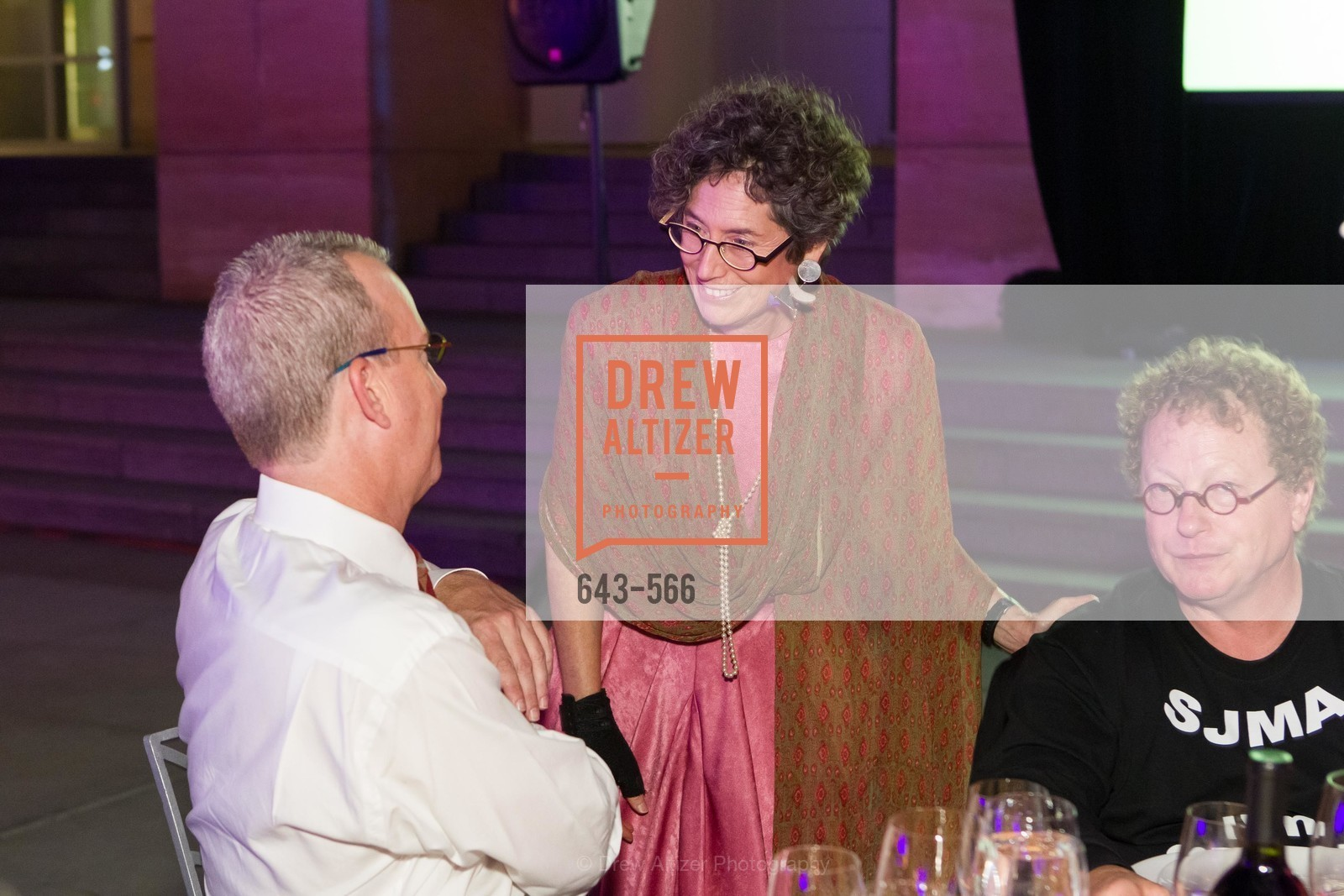 Mike Dove, Susan Krane, Ed Frank, SAN JOSE MUSEUM OF ART'S Spectrum Gala - 45th Anniversary, US, September 13th, 2014,Drew Altizer, Drew Altizer Photography, full-service agency, private events, San Francisco photographer, photographer california