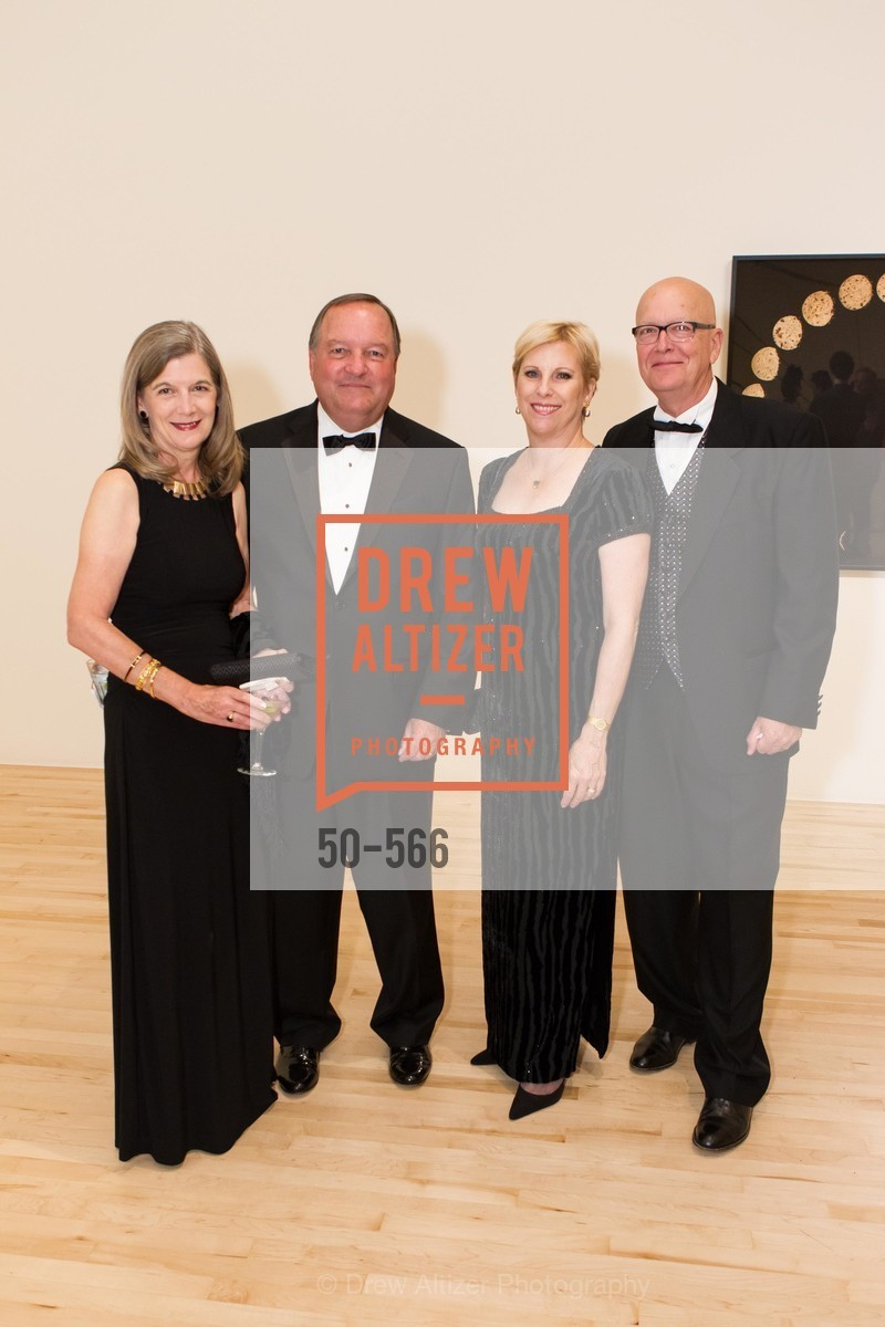 Jackie Faulkner, William Faulkner, Glenda Dorchak, Gary Dorchak, SAN JOSE MUSEUM OF ART'S Spectrum Gala - 45th Anniversary, US, September 13th, 2014,Drew Altizer, Drew Altizer Photography, full-service agency, private events, San Francisco photographer, photographer california