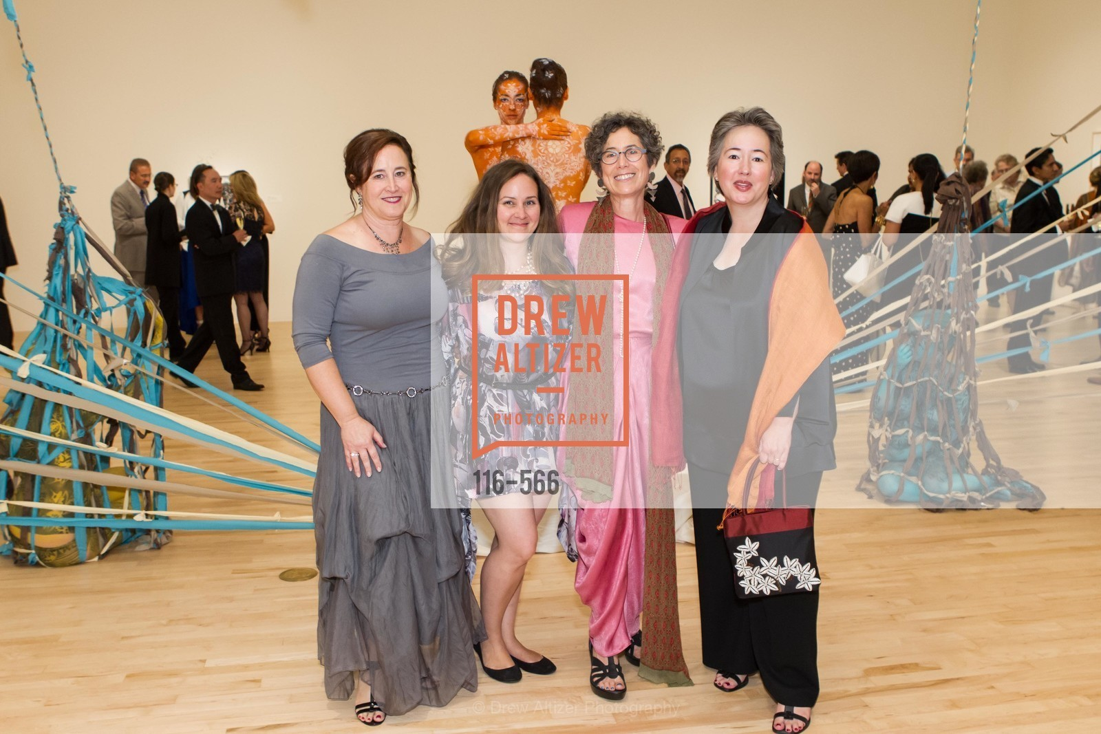 Cornelia Pendleton, Trina Merry, Susan Krane, Claudia Weber, SAN JOSE MUSEUM OF ART'S Spectrum Gala - 45th Anniversary, US, September 13th, 2014,Drew Altizer, Drew Altizer Photography, full-service agency, private events, San Francisco photographer, photographer california