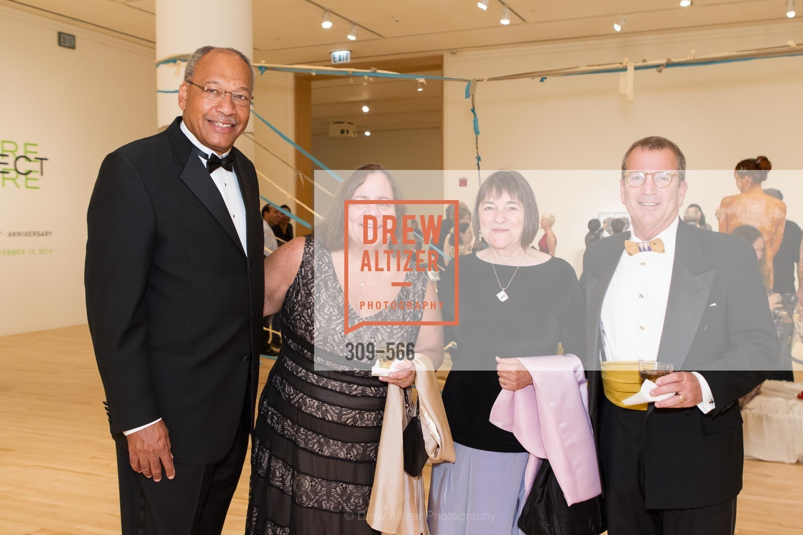 Roger Bowie, Peggy Dalton, Mary Alice Bowie, Rush Dalton, SAN JOSE MUSEUM OF ART'S Spectrum Gala - 45th Anniversary, US, September 13th, 2014,Drew Altizer, Drew Altizer Photography, full-service agency, private events, San Francisco photographer, photographer california