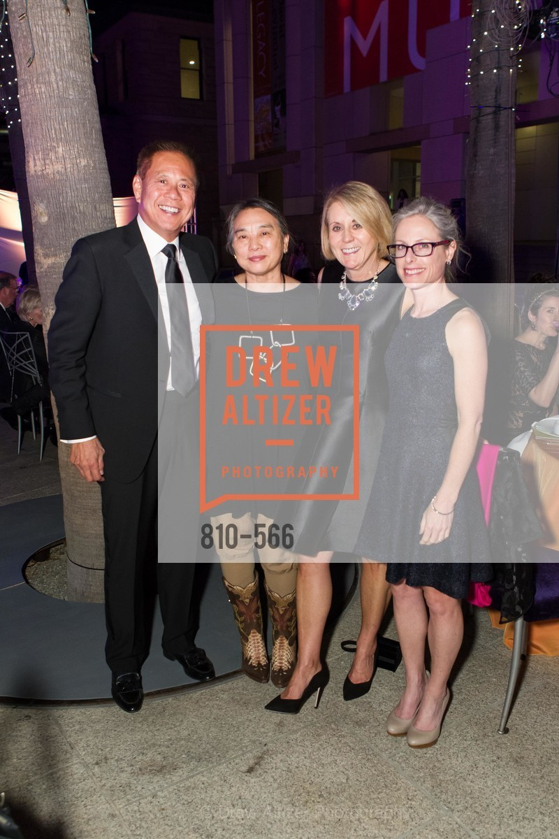 Marv Tseu, Hung Liu, Mary Mocas, Diane Dec, SAN JOSE MUSEUM OF ART'S Spectrum Gala - 45th Anniversary, US, September 13th, 2014,Drew Altizer, Drew Altizer Photography, full-service agency, private events, San Francisco photographer, photographer california