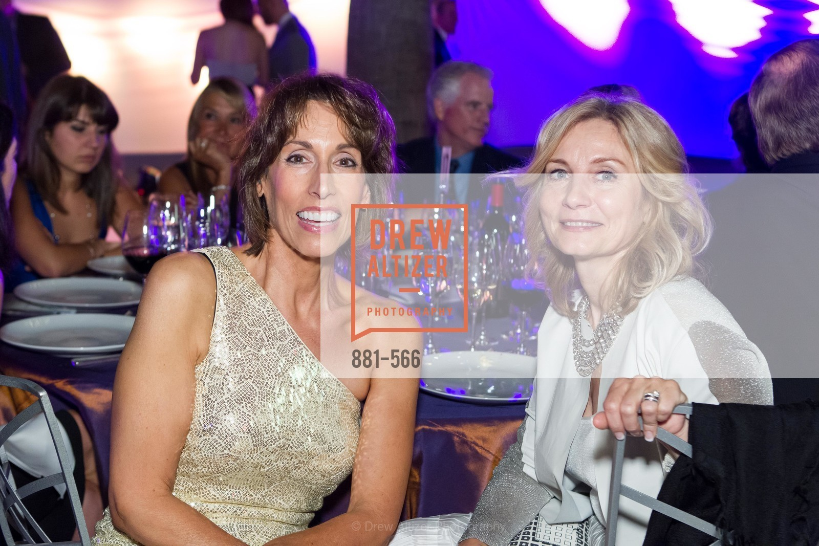 Randa Davis, Elena Lebedeva, SAN JOSE MUSEUM OF ART'S Spectrum Gala - 45th Anniversary, US, September 13th, 2014