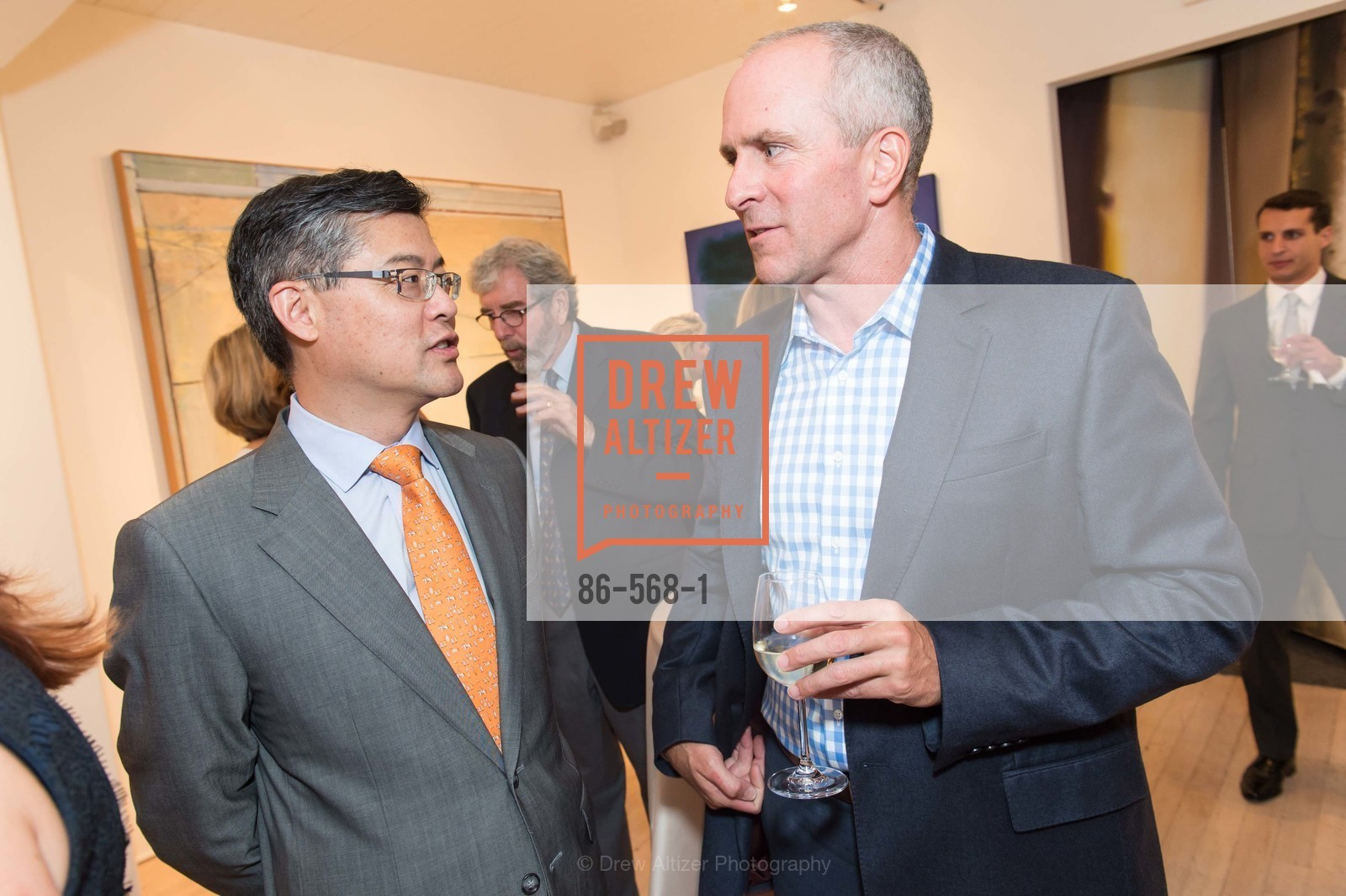 Jay Xu, Jay Backstrand, SOTHEBY'S  Hosts a Private Viewing of Highlights from the Collection of MRS. PAUL MELLON, US, September 17th, 2014,Drew Altizer, Drew Altizer Photography, full-service agency, private events, San Francisco photographer, photographer california