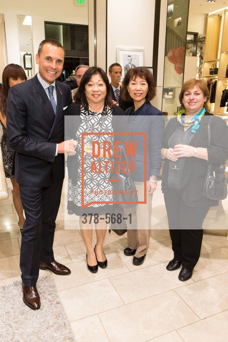Jeff Garelick, Beverly Lee, Laura Chiu, Esfir Shrayver, SOTHEBY'S  Hosts a Private Viewing of Highlights from the Collection of MRS. PAUL MELLON, US, September 17th, 2014,Drew Altizer, Drew Altizer Photography, full-service agency, private events, San Francisco photographer, photographer california