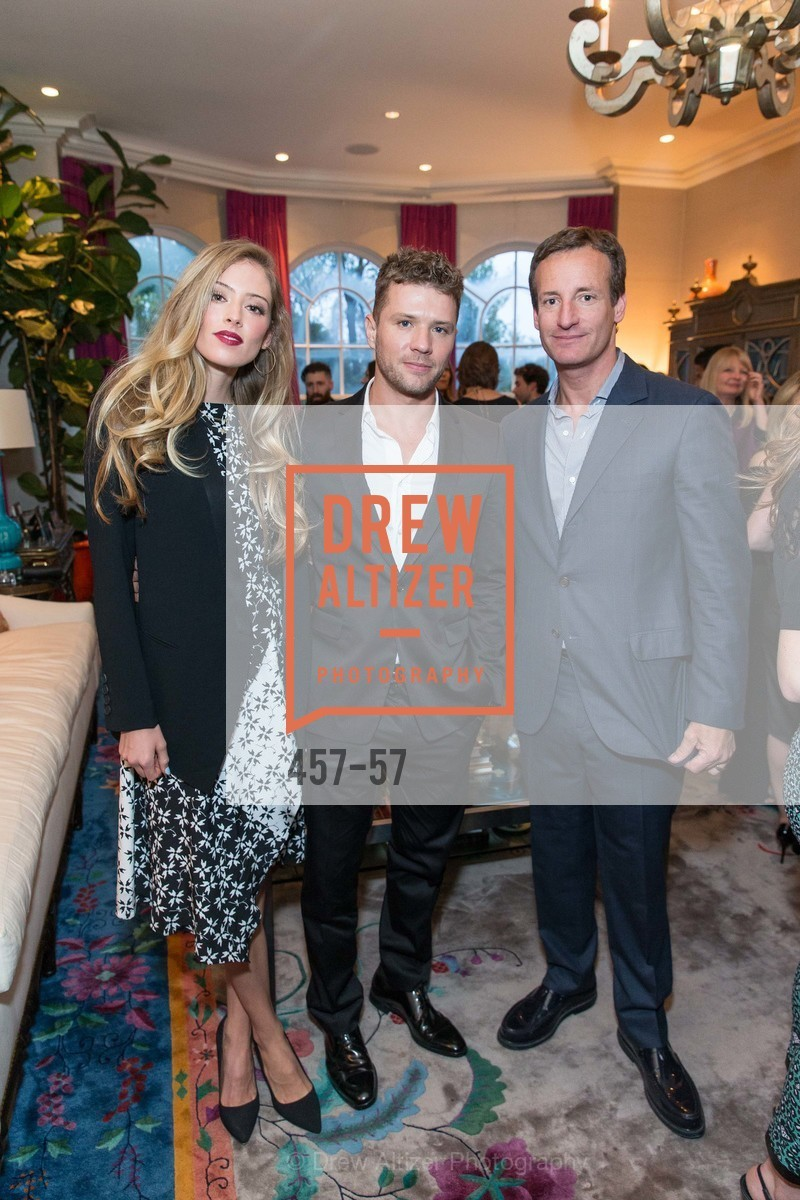 Paulina Slagter, Ryan Phillipe, Todd Traina, Katie and Todd Traina Host a Cocktail Party for Net-A-Porter, The Traina Residence, April 24th, 2015,Drew Altizer, Drew Altizer Photography, full-service event agency, private events, San Francisco photographer, photographer California
