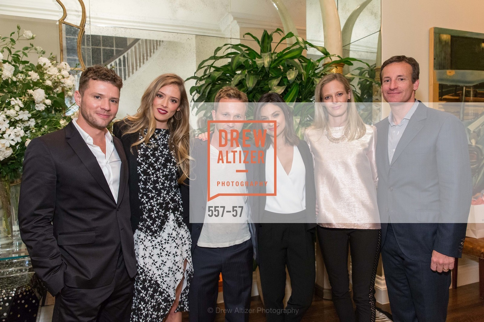 Ryan Phillippe, Paulina Slagter, Breckin Meyer, Floriana Lima, Katie Traina, Todd Traina, Katie and Todd Traina Host a Cocktail Party for Net-A-Porter, The Traina Residence, April 24th, 2015,Drew Altizer, Drew Altizer Photography, full-service agency, private events, San Francisco photographer, photographer california