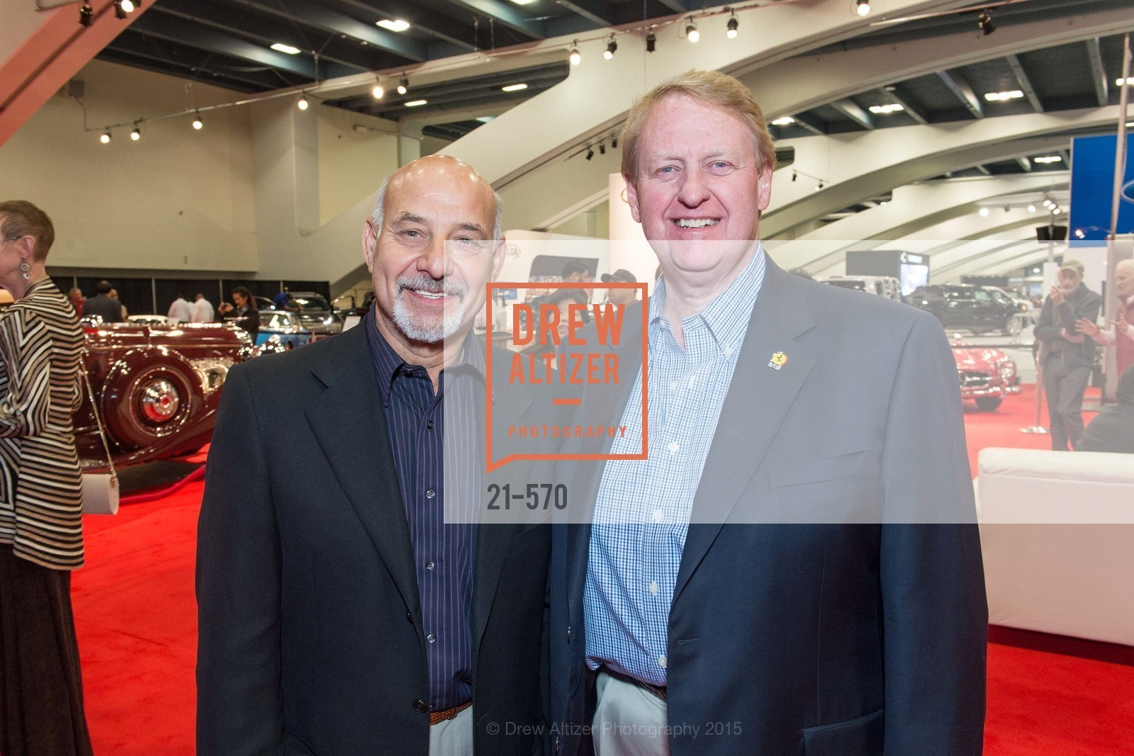 Benjamin Gage, Bill McElfresh, Academy of Art University Reception at the 58th Annual SF International Auto Show, Moscone Convention Center. 747 Howard St, November 20th, 2015,Drew Altizer, Drew Altizer Photography, full-service agency, private events, San Francisco photographer, photographer california