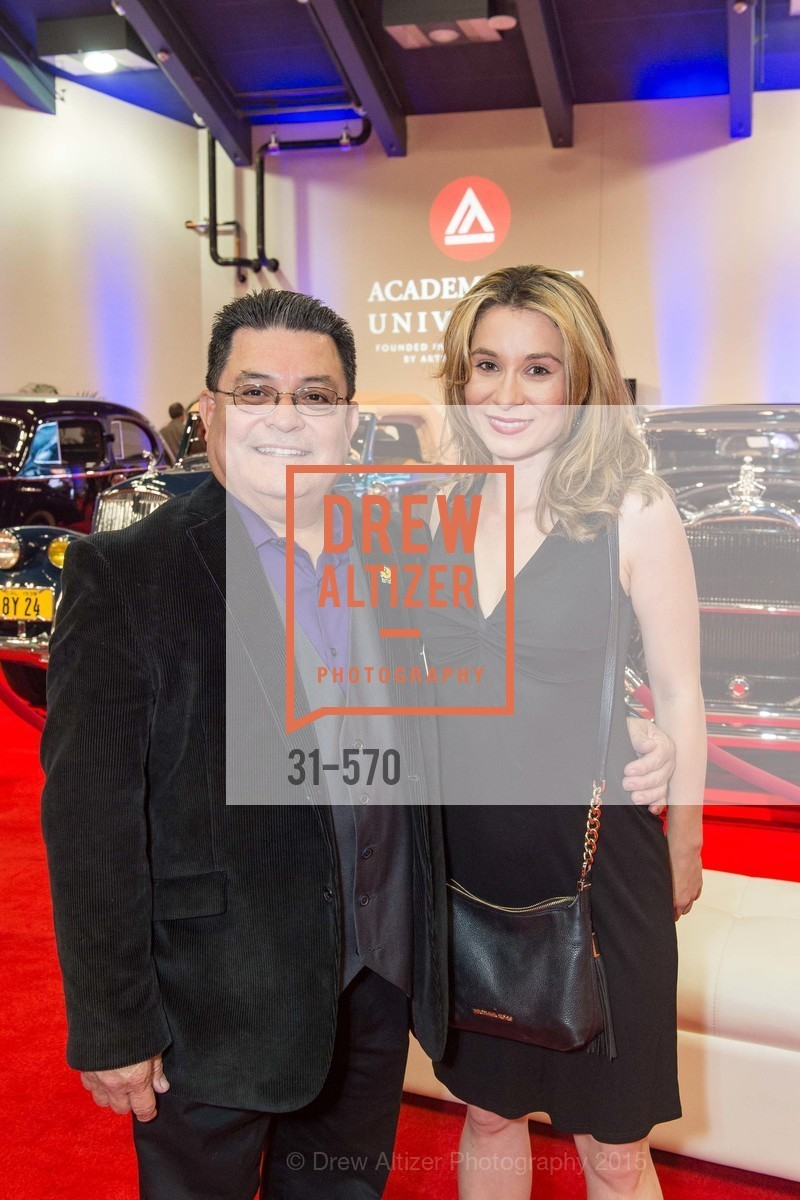 Sal Garcia, April Garcia, Academy of Art University Reception at the 58th Annual SF International Auto Show, Moscone Convention Center. 747 Howard St, November 20th, 2015,Drew Altizer, Drew Altizer Photography, full-service agency, private events, San Francisco photographer, photographer california