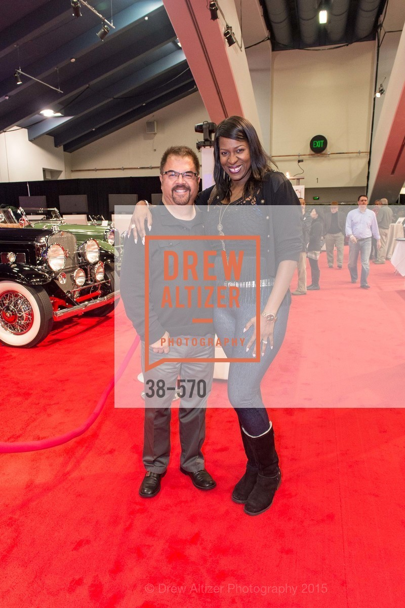 Dave Ebarle, Marquesia Ebarle, Academy of Art University Reception at the 58th Annual SF International Auto Show, Moscone Convention Center. 747 Howard St, November 20th, 2015,Drew Altizer, Drew Altizer Photography, full-service agency, private events, San Francisco photographer, photographer california