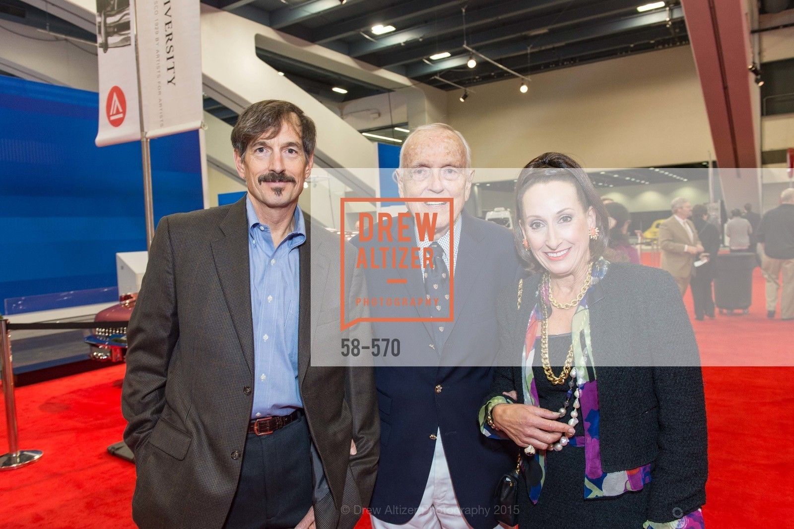 Scott Stephens, Richard Stephens, Toni Wolfson, Academy of Art University Reception at the 58th Annual SF International Auto Show, Moscone Convention Center. 747 Howard St, November 20th, 2015,Drew Altizer, Drew Altizer Photography, full-service agency, private events, San Francisco photographer, photographer california
