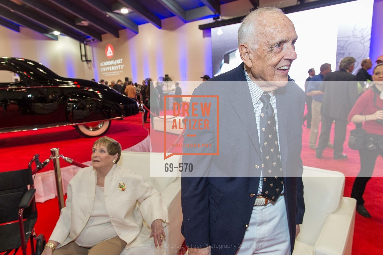 Dick Stephens, Academy of Art University Reception at the 58th Annual SF International Auto Show, Moscone Convention Center. 747 Howard St, November 20th, 2015,Drew Altizer, Drew Altizer Photography, full-service agency, private events, San Francisco photographer, photographer california