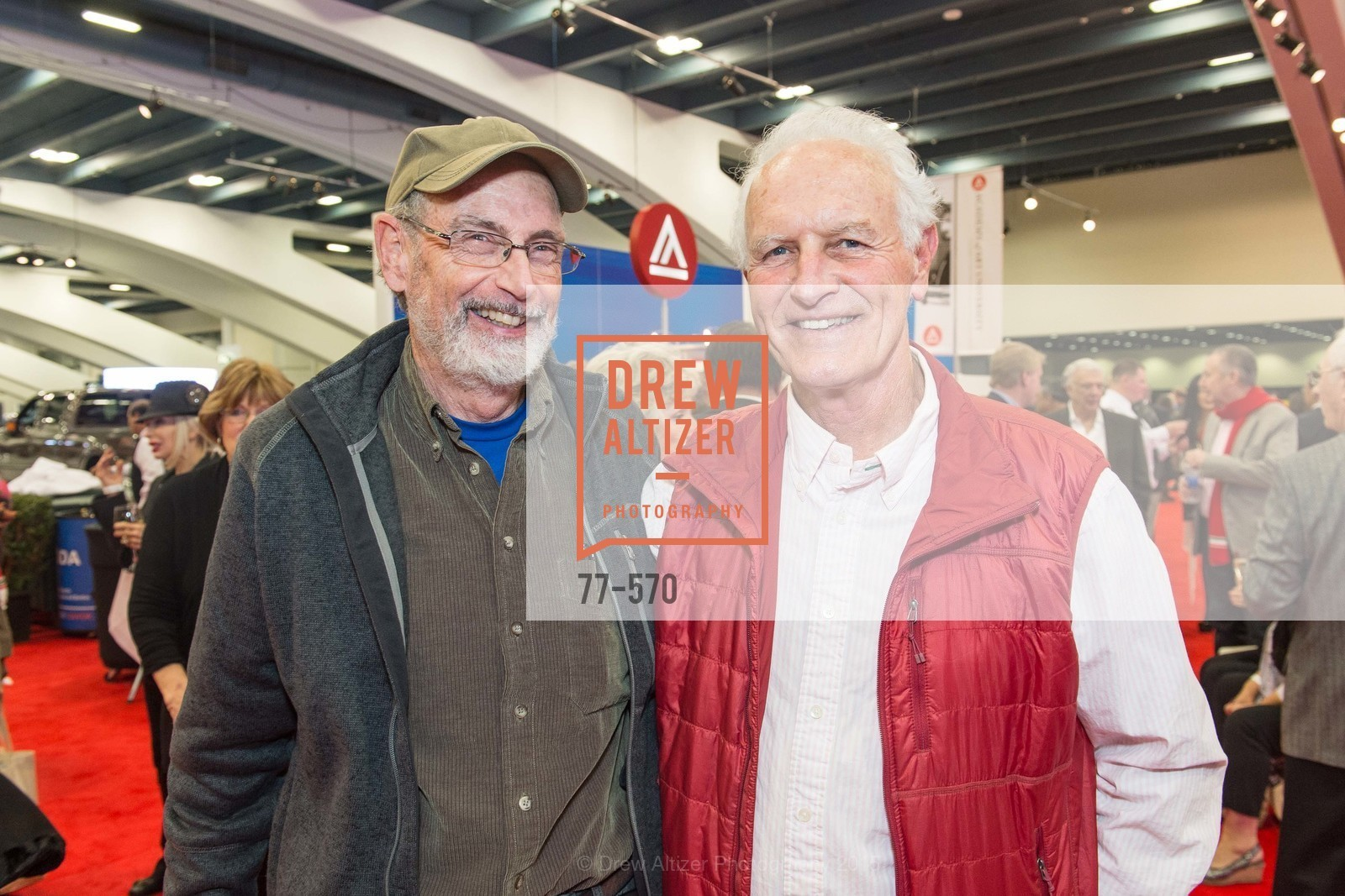 George Skinner, Richard Frank, Academy of Art University Reception at the 58th Annual SF International Auto Show, Moscone Convention Center. 747 Howard St, November 20th, 2015,Drew Altizer, Drew Altizer Photography, full-service agency, private events, San Francisco photographer, photographer california