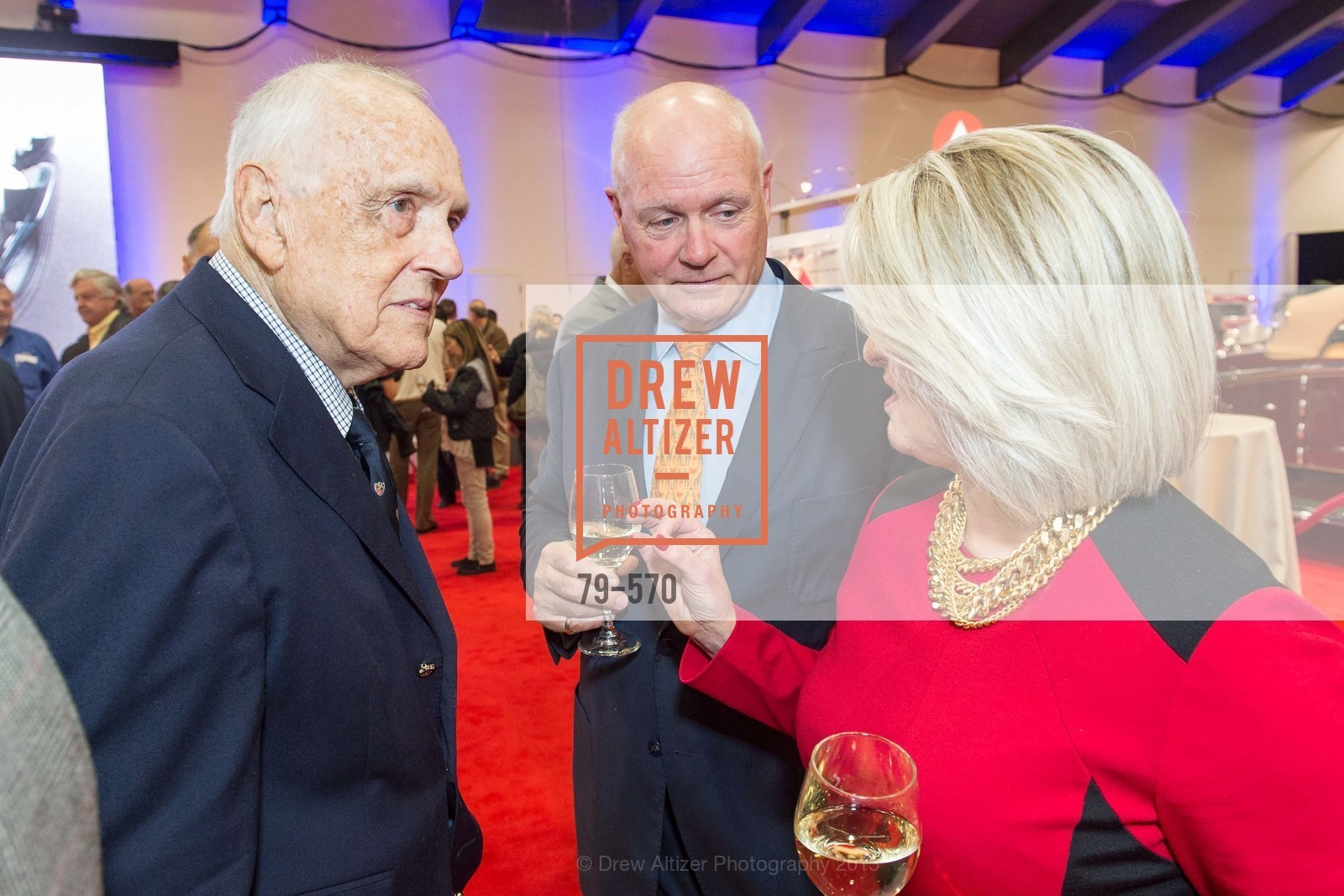 Richard Stephens, Bobby Sullivan, Adrianna Pope Sullivan, Academy of Art University Reception at the 58th Annual SF International Auto Show, Moscone Convention Center. 747 Howard St, November 20th, 2015,Drew Altizer, Drew Altizer Photography, full-service agency, private events, San Francisco photographer, photographer california