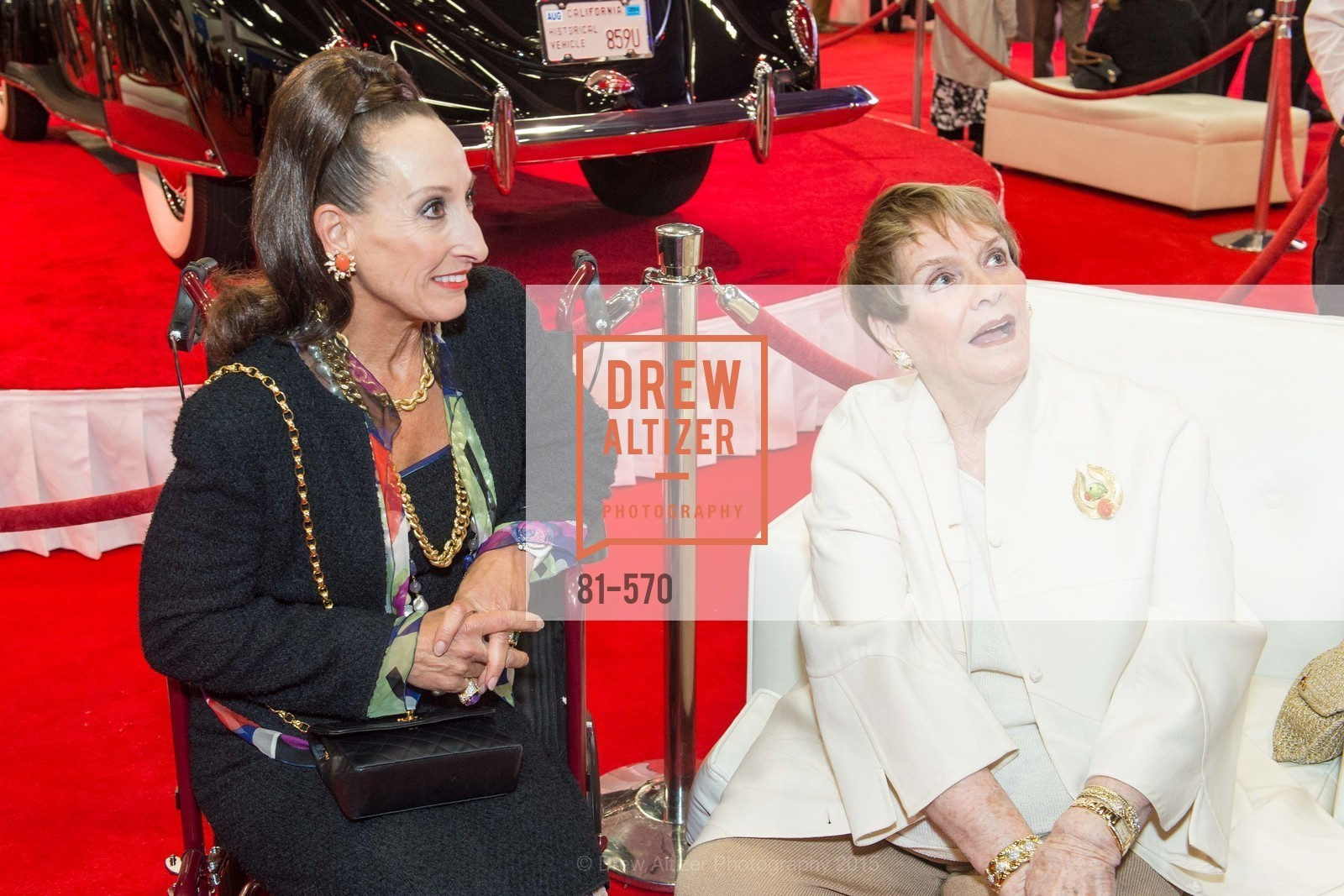 Toni Wolfson, Susanne Stephens, Academy of Art University Reception at the 58th Annual SF International Auto Show, Moscone Convention Center. 747 Howard St, November 20th, 2015,Drew Altizer, Drew Altizer Photography, full-service agency, private events, San Francisco photographer, photographer california