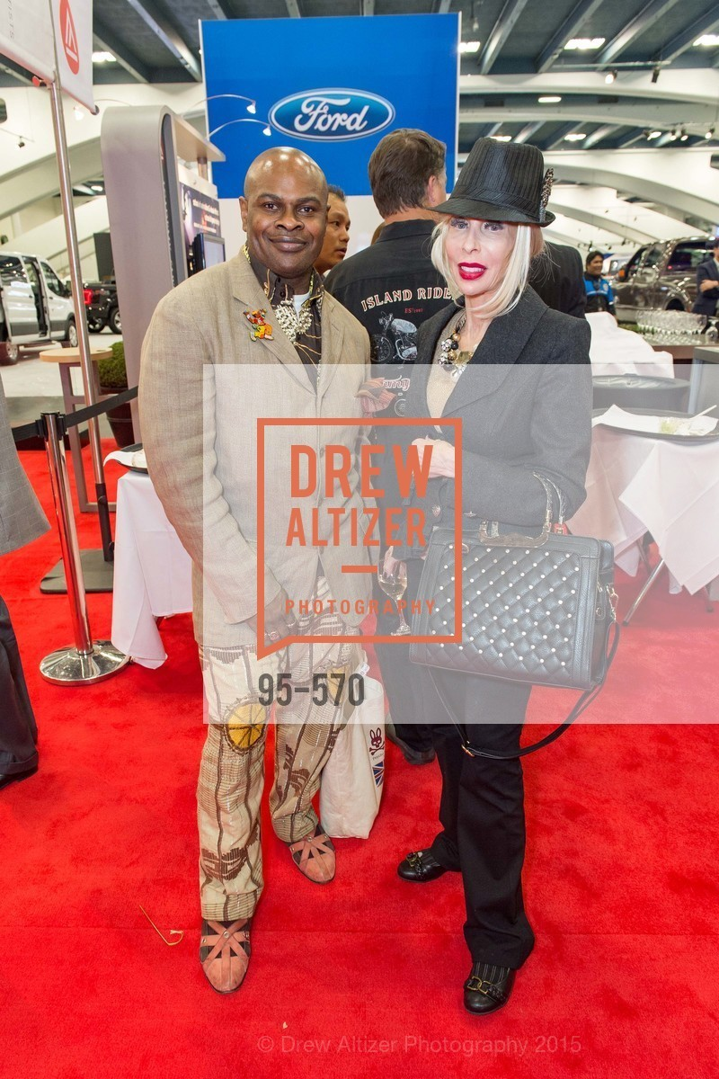 Babatunde Oladoja, Dyan Dyer, Academy of Art University Reception at the 58th Annual SF International Auto Show, Moscone Convention Center. 747 Howard St, November 20th, 2015,Drew Altizer, Drew Altizer Photography, full-service agency, private events, San Francisco photographer, photographer california