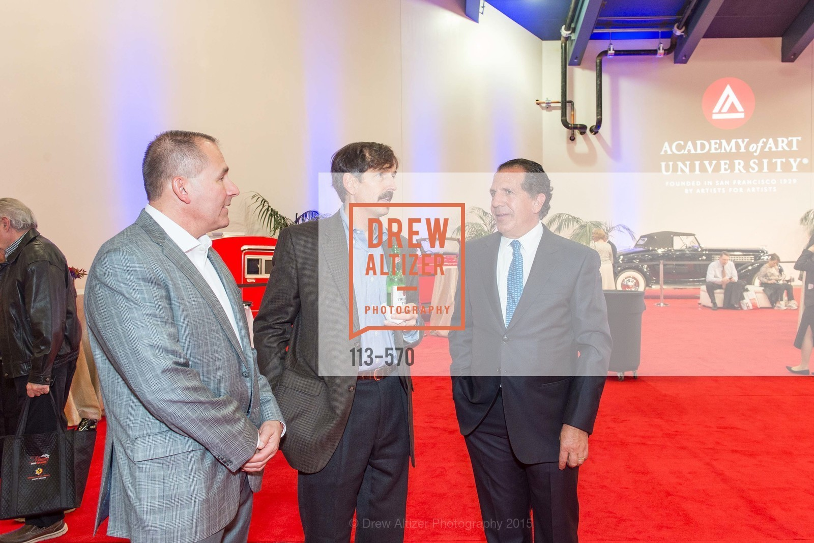 Scott Stephens, Bob Federighi, Academy of Art University Reception at the 58th Annual SF International Auto Show, Moscone Convention Center. 747 Howard St, November 20th, 2015,Drew Altizer, Drew Altizer Photography, full-service event agency, private events, San Francisco photographer, photographer California