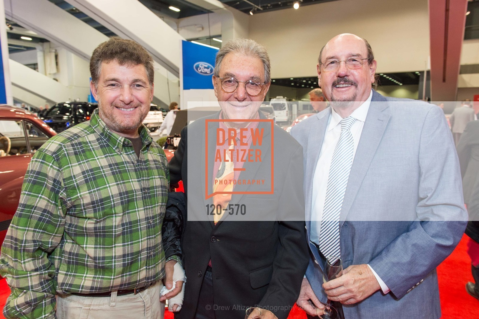 Gavin McEachern, Bruce McEachern, Rufus Lorton, Academy of Art University Reception at the 58th Annual SF International Auto Show, Moscone Convention Center. 747 Howard St, November 20th, 2015,Drew Altizer, Drew Altizer Photography, full-service event agency, private events, San Francisco photographer, photographer California