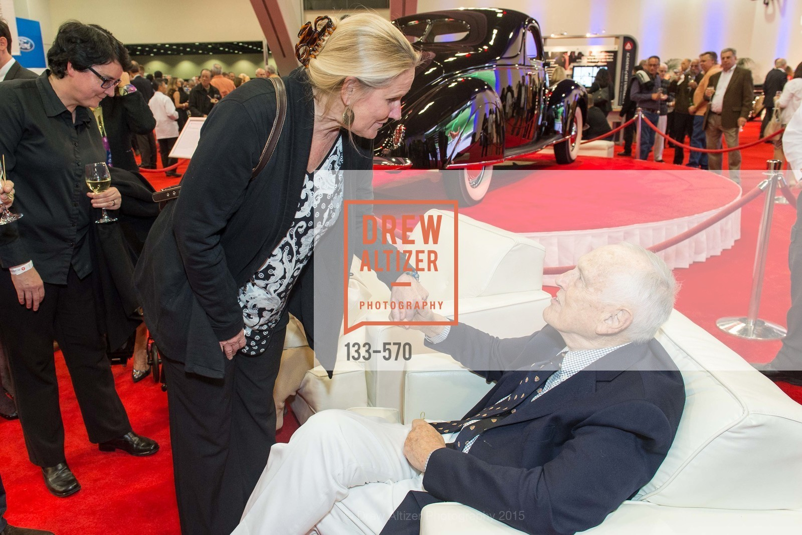 Julie Goonam, Richard Stephens, Academy of Art University Reception at the 58th Annual SF International Auto Show, Moscone Convention Center. 747 Howard St, November 20th, 2015,Drew Altizer, Drew Altizer Photography, full-service agency, private events, San Francisco photographer, photographer california