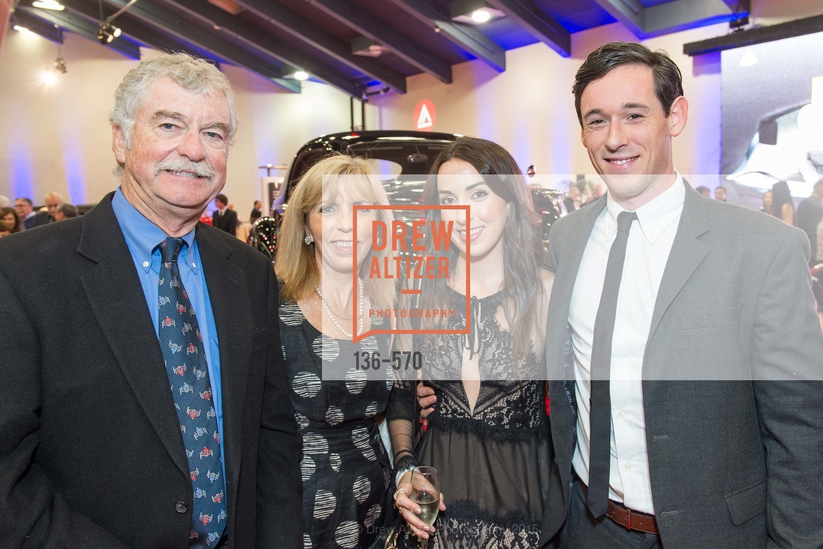 Alan McCreary, Susan Doyle, Emily Herman, Simon Herman, Academy of Art University Reception at the 58th Annual SF International Auto Show, Moscone Convention Center. 747 Howard St, November 20th, 2015,Drew Altizer, Drew Altizer Photography, full-service agency, private events, San Francisco photographer, photographer california