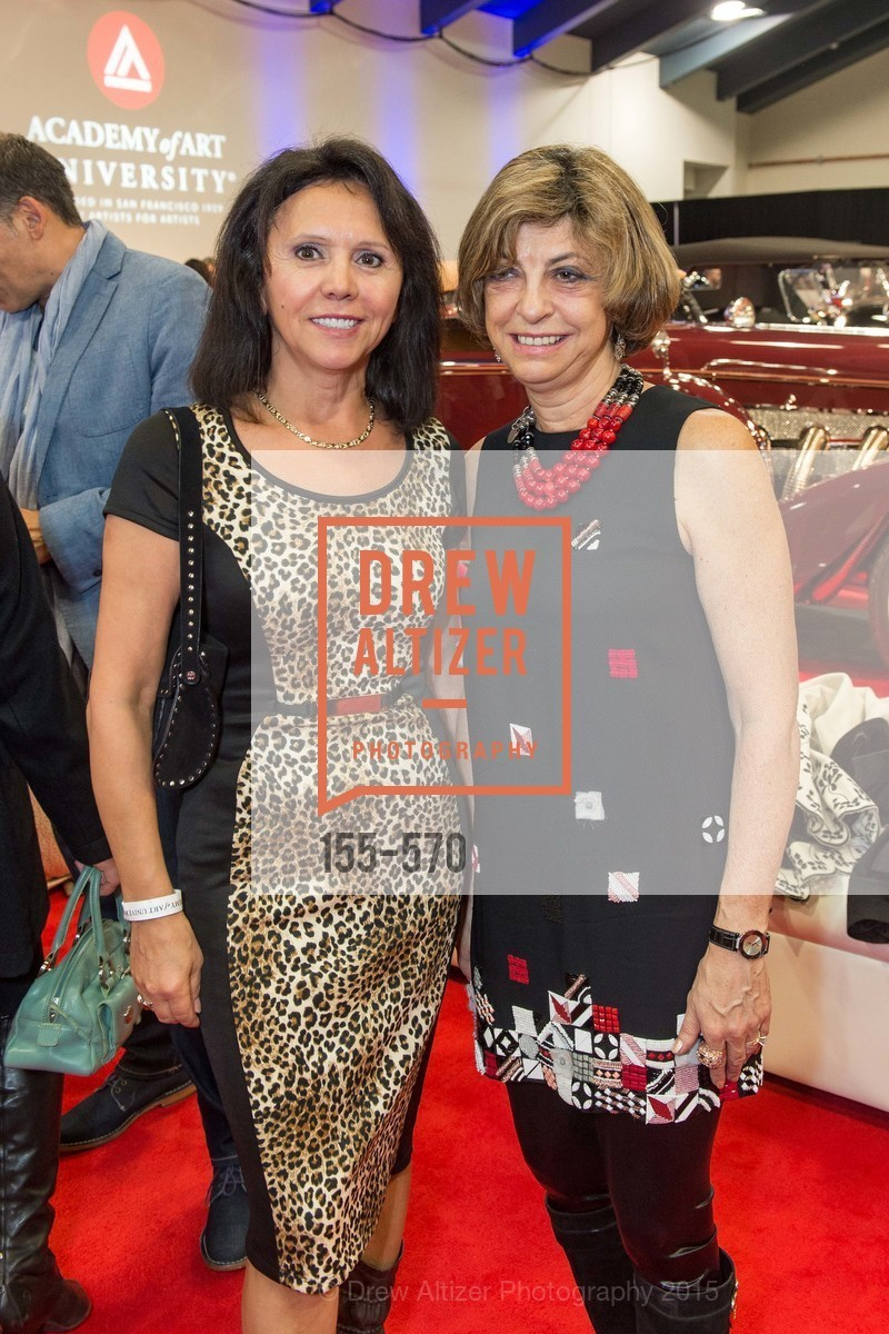 Barbara Cartier, Ludmila Eggleton, Academy of Art University Reception at the 58th Annual SF International Auto Show, Moscone Convention Center. 747 Howard St, November 20th, 2015,Drew Altizer, Drew Altizer Photography, full-service agency, private events, San Francisco photographer, photographer california