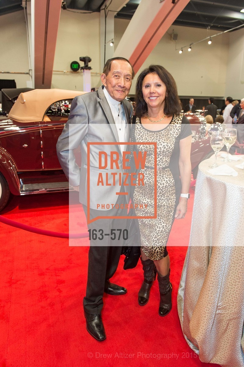 Henry Him, Barbara Cartier, Academy of Art University Reception at the 58th Annual SF International Auto Show, Moscone Convention Center. 747 Howard St, November 20th, 2015,Drew Altizer, Drew Altizer Photography, full-service agency, private events, San Francisco photographer, photographer california
