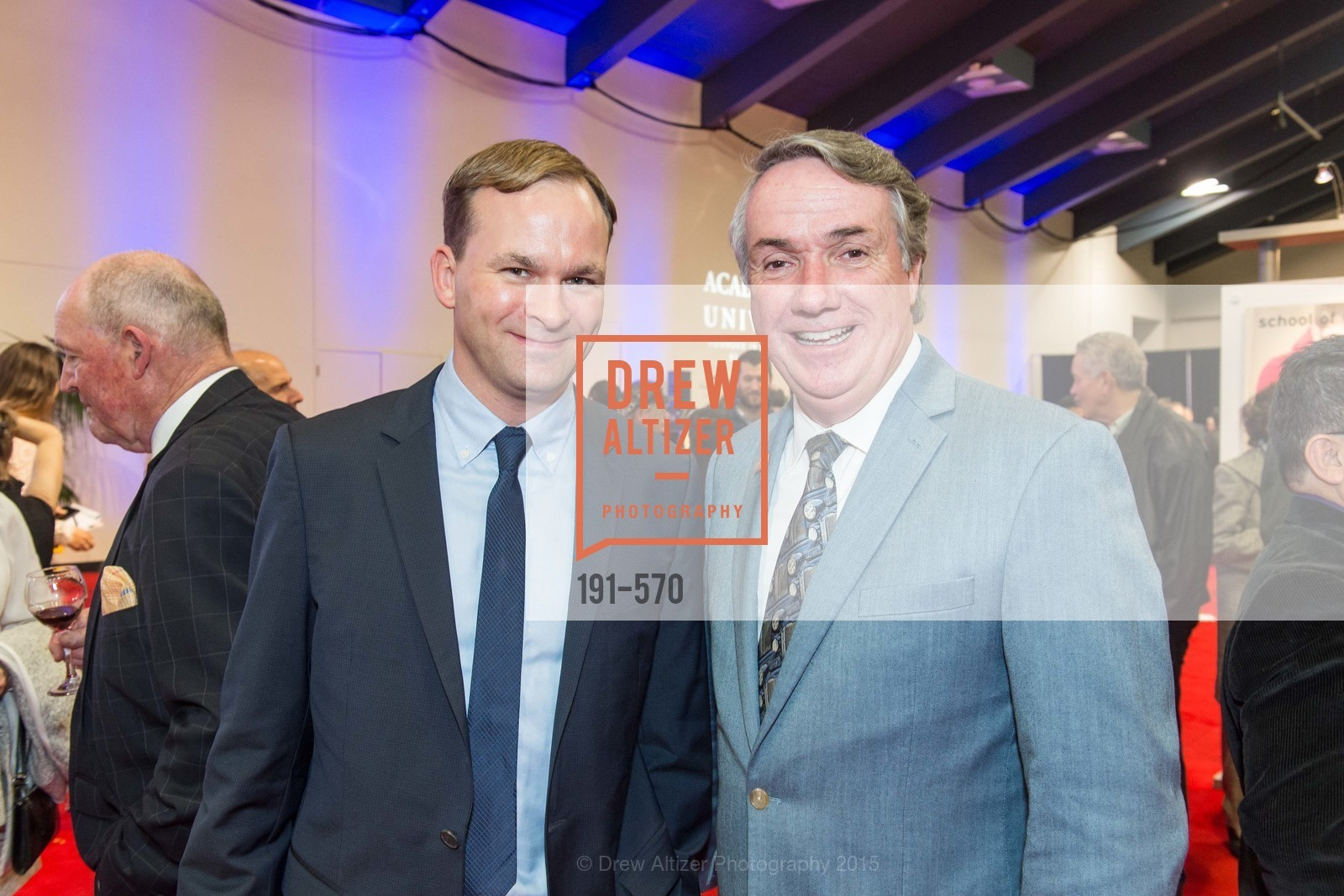 Jakob Treisam, Tim McGrane, Academy of Art University Reception at the 58th Annual SF International Auto Show, Moscone Convention Center. 747 Howard St, November 20th, 2015,Drew Altizer, Drew Altizer Photography, full-service agency, private events, San Francisco photographer, photographer california