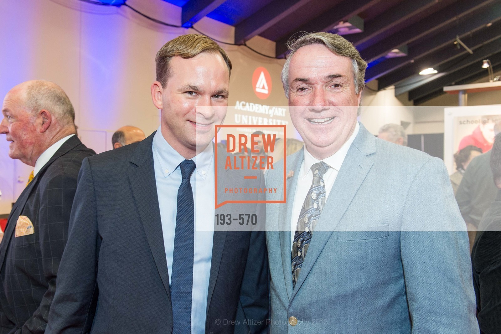 Jakob Treisam, Tim McGrane, Academy of Art University Reception at the 58th Annual SF International Auto Show, Moscone Convention Center. 747 Howard St, November 20th, 2015,Drew Altizer, Drew Altizer Photography, full-service event agency, private events, San Francisco photographer, photographer California