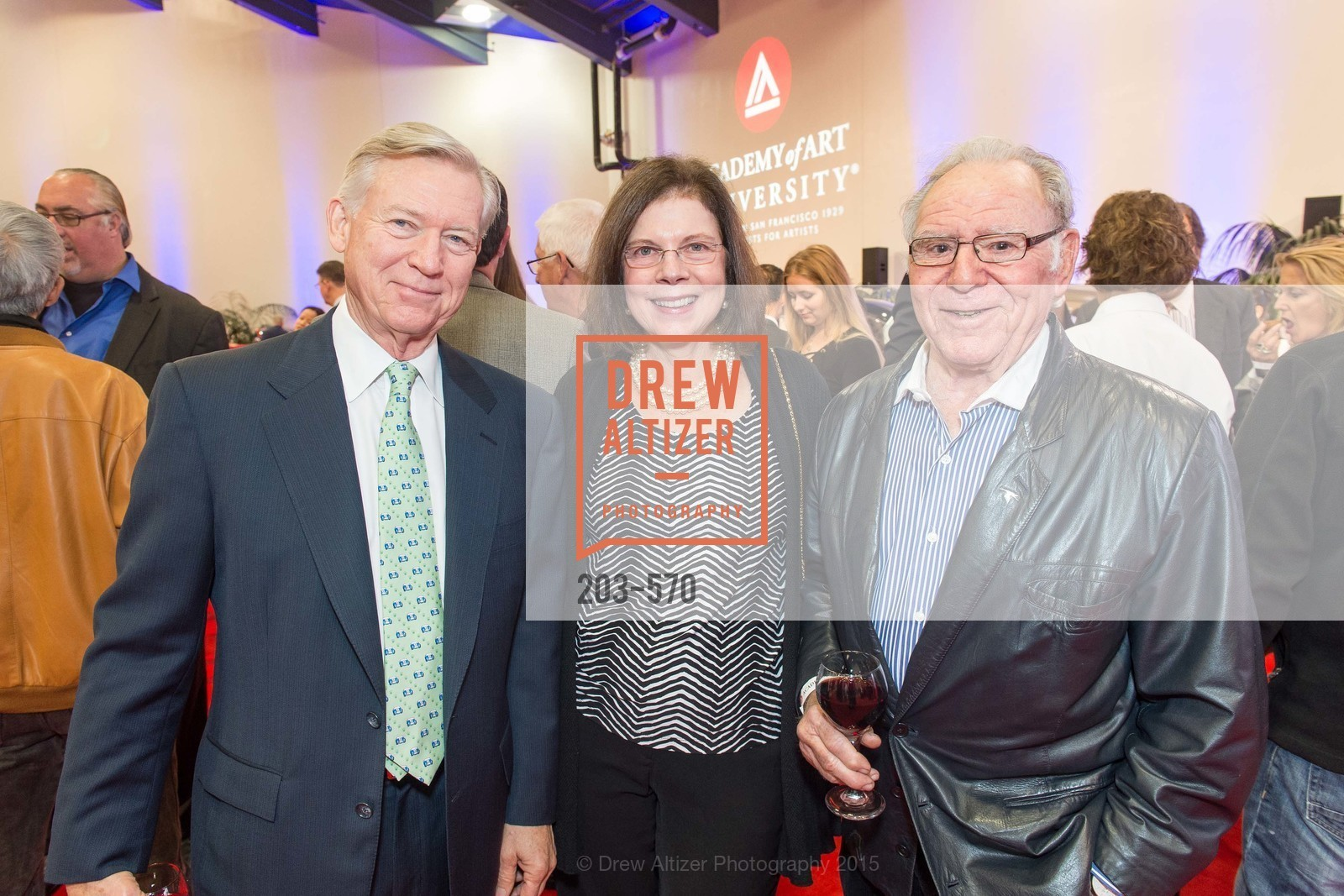 Tom Lee, Amanda Lee, Jules Heumann, Academy of Art University Reception at the 58th Annual SF International Auto Show, Moscone Convention Center. 747 Howard St, November 20th, 2015,Drew Altizer, Drew Altizer Photography, full-service agency, private events, San Francisco photographer, photographer california