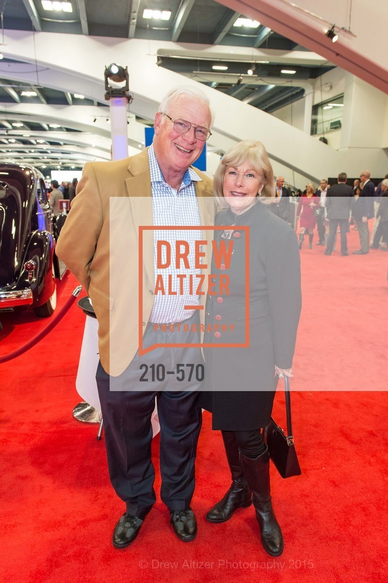 Charles Swenson, Susan Swenson, Academy of Art University Reception at the 58th Annual SF International Auto Show, Moscone Convention Center. 747 Howard St, November 20th, 2015,Drew Altizer, Drew Altizer Photography, full-service agency, private events, San Francisco photographer, photographer california