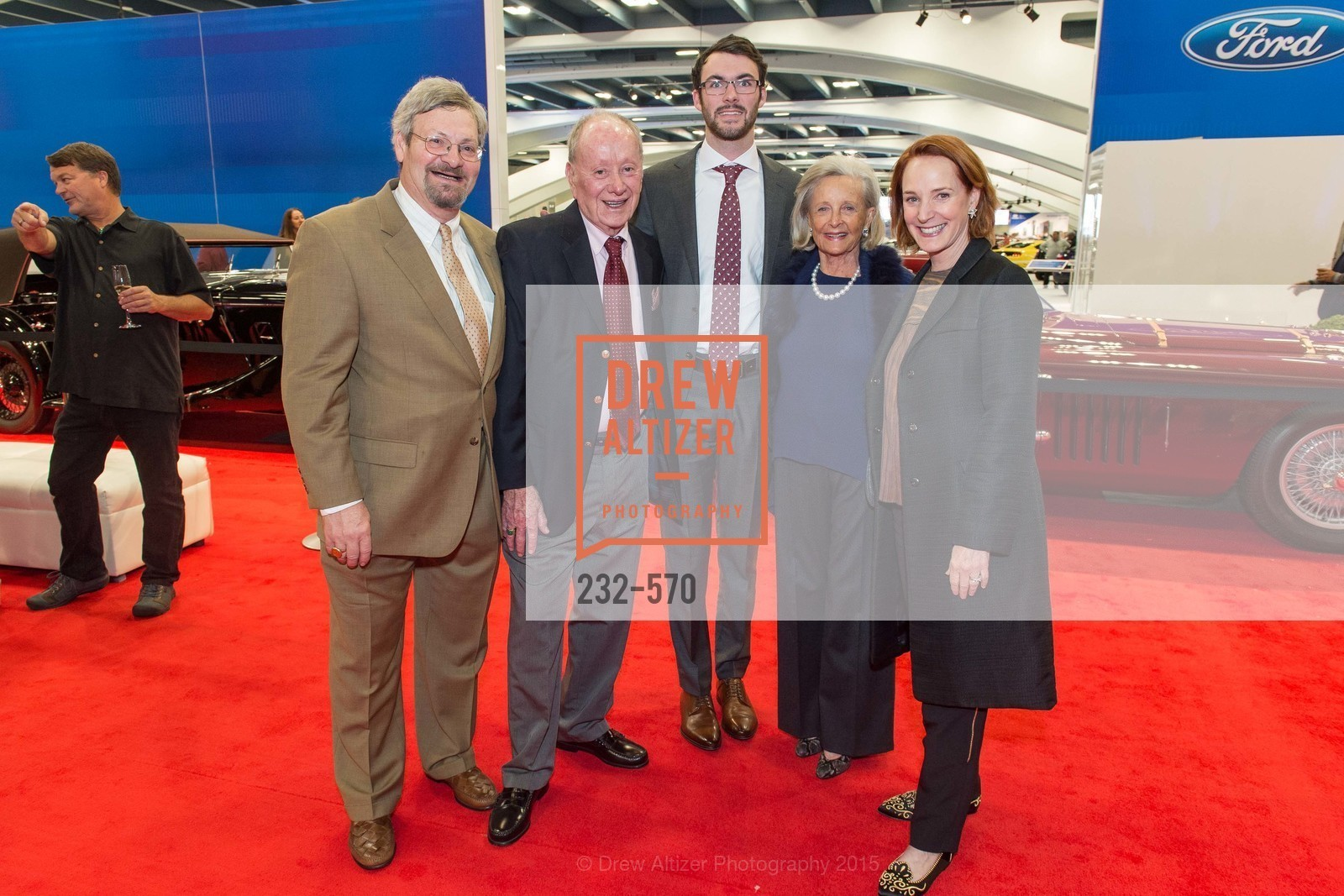 Jerry Messina, George Newhall, Patsy Pope, Julie Newhall, Academy of Art University Reception at the 58th Annual SF International Auto Show, Moscone Convention Center. 747 Howard St, November 20th, 2015,Drew Altizer, Drew Altizer Photography, full-service agency, private events, San Francisco photographer, photographer california