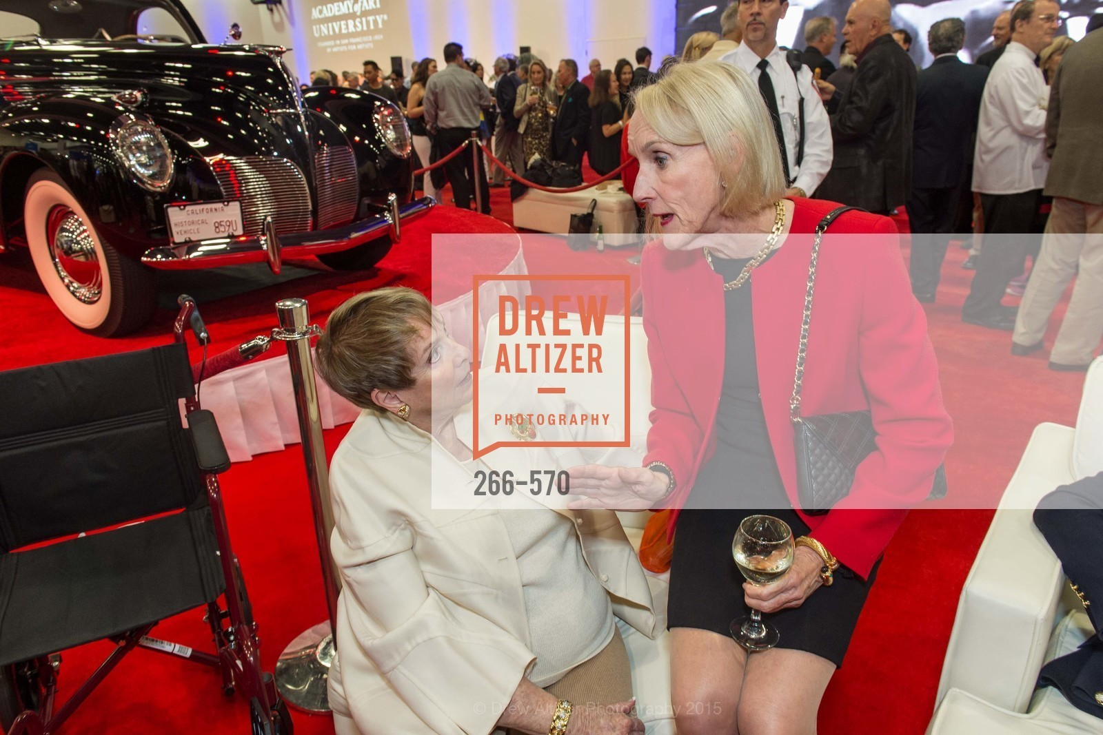 Susanne Stephens, Nancy Houston, Academy of Art University Reception at the 58th Annual SF International Auto Show, Moscone Convention Center. 747 Howard St, November 20th, 2015,Drew Altizer, Drew Altizer Photography, full-service agency, private events, San Francisco photographer, photographer california