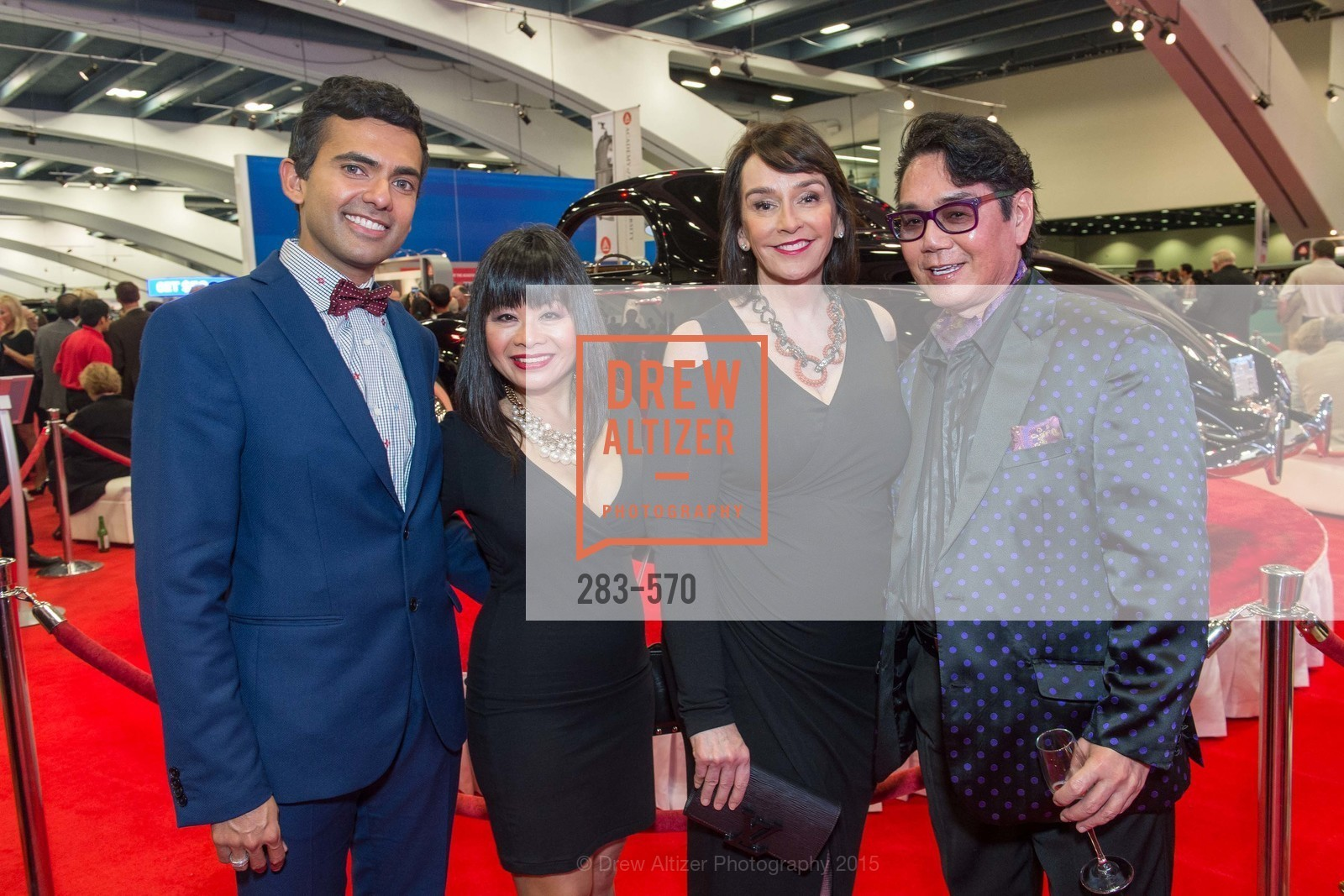 Russell Coelho, Rebecca Delgado, Elisa Stephens, Academy of Art University Reception at the 58th Annual SF International Auto Show, Moscone Convention Center. 747 Howard St, November 20th, 2015,Drew Altizer, Drew Altizer Photography, full-service agency, private events, San Francisco photographer, photographer california