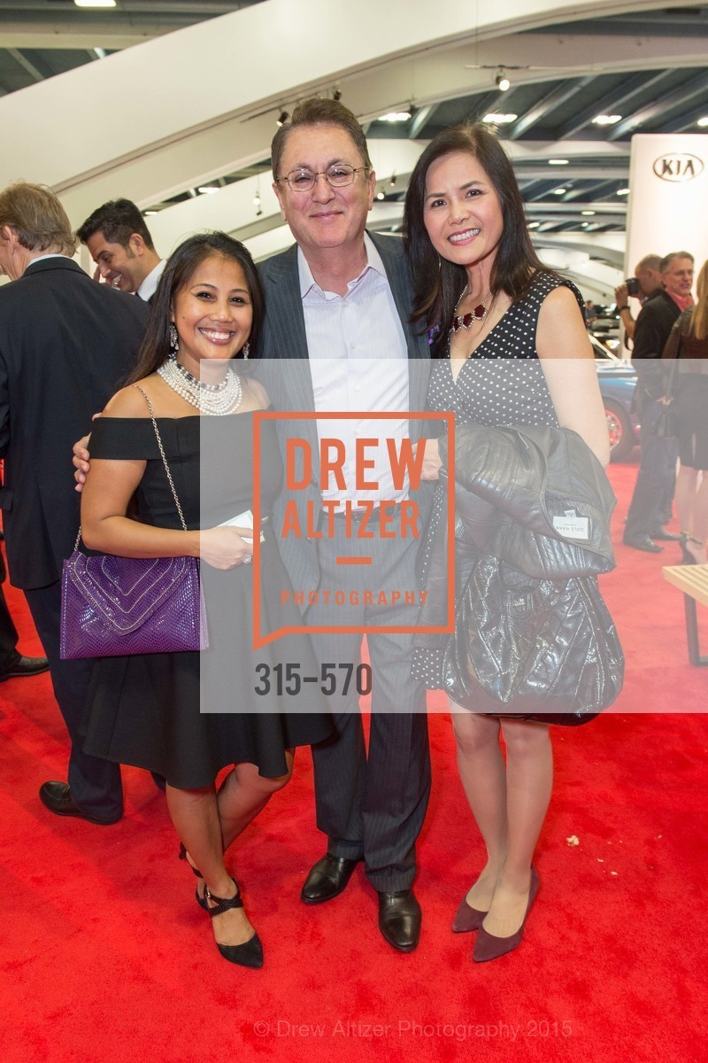 Dia Ates, Derek Nazarbegian, Cathy Nazarbegian, Academy of Art University Reception at the 58th Annual SF International Auto Show, Moscone Convention Center. 747 Howard St, November 20th, 2015,Drew Altizer, Drew Altizer Photography, full-service agency, private events, San Francisco photographer, photographer california